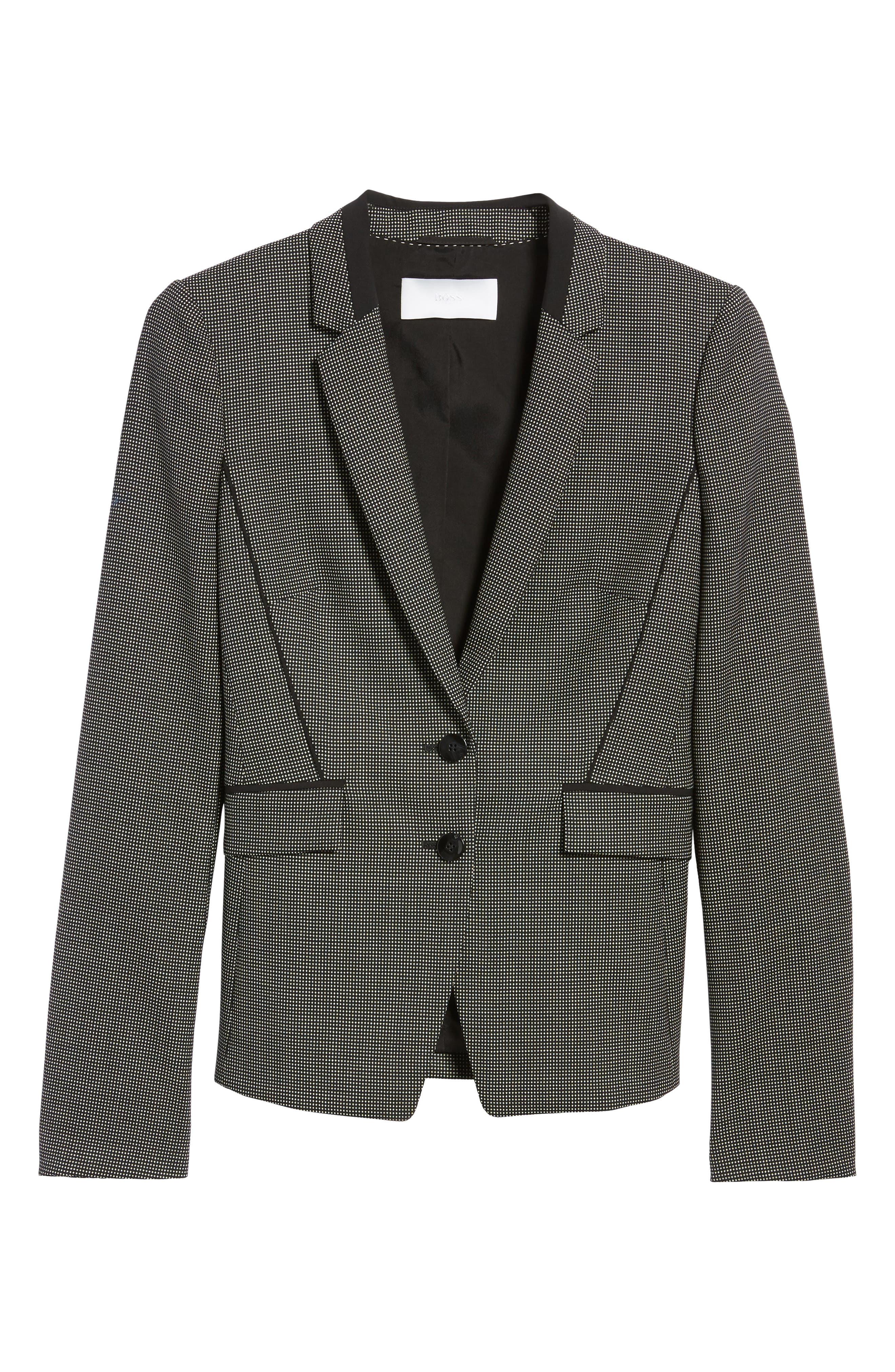 Jelisana Stretch Wool Suit Jacket,                             Alternate thumbnail 2, color,