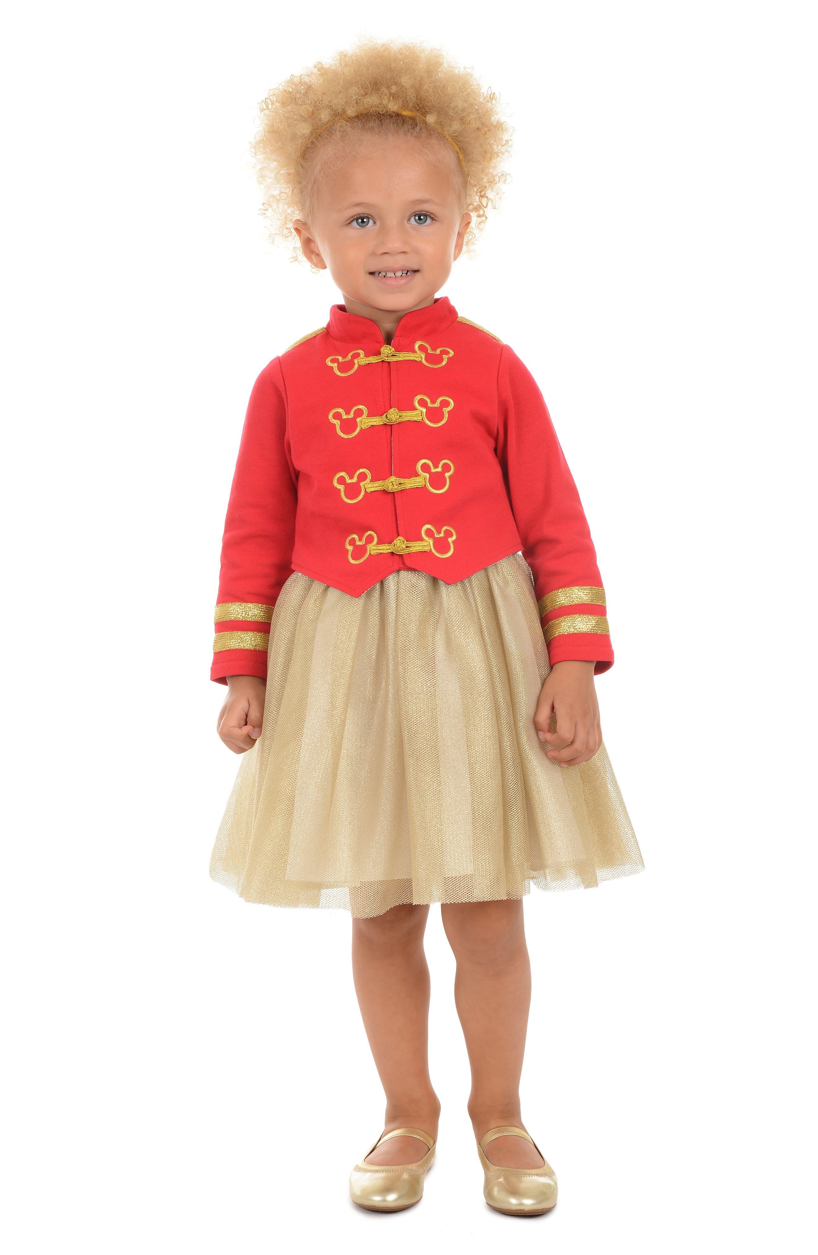 PIPPA & JULIE,                             x Disney<sup>®</sup> Mickey Mouse<sup>®</sup> Majorette Jacket & Tank Dress Set,                             Alternate thumbnail 6, color,                             643