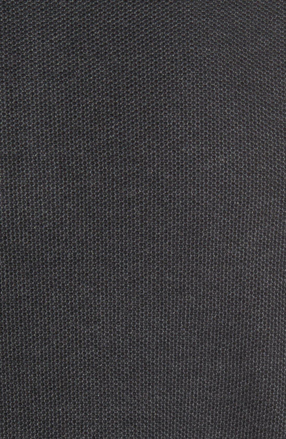 Make Mine a Double Reversible Quarter Zip Sweater,                             Alternate thumbnail 5, color,                             001