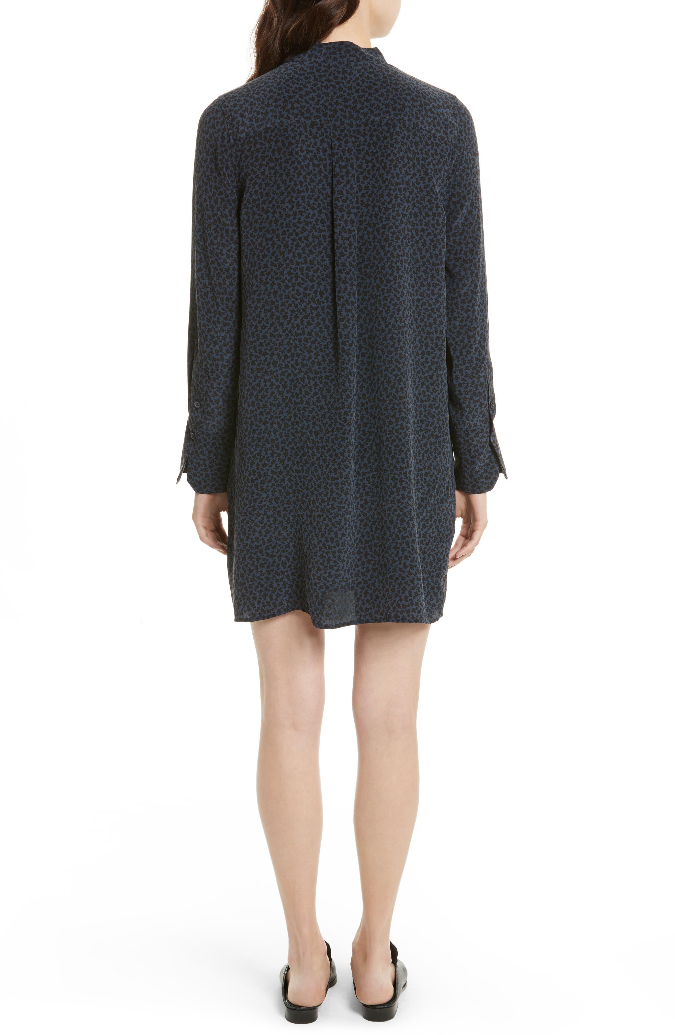 Condence Silk Shift Dress,                             Alternate thumbnail 2, color,                             466