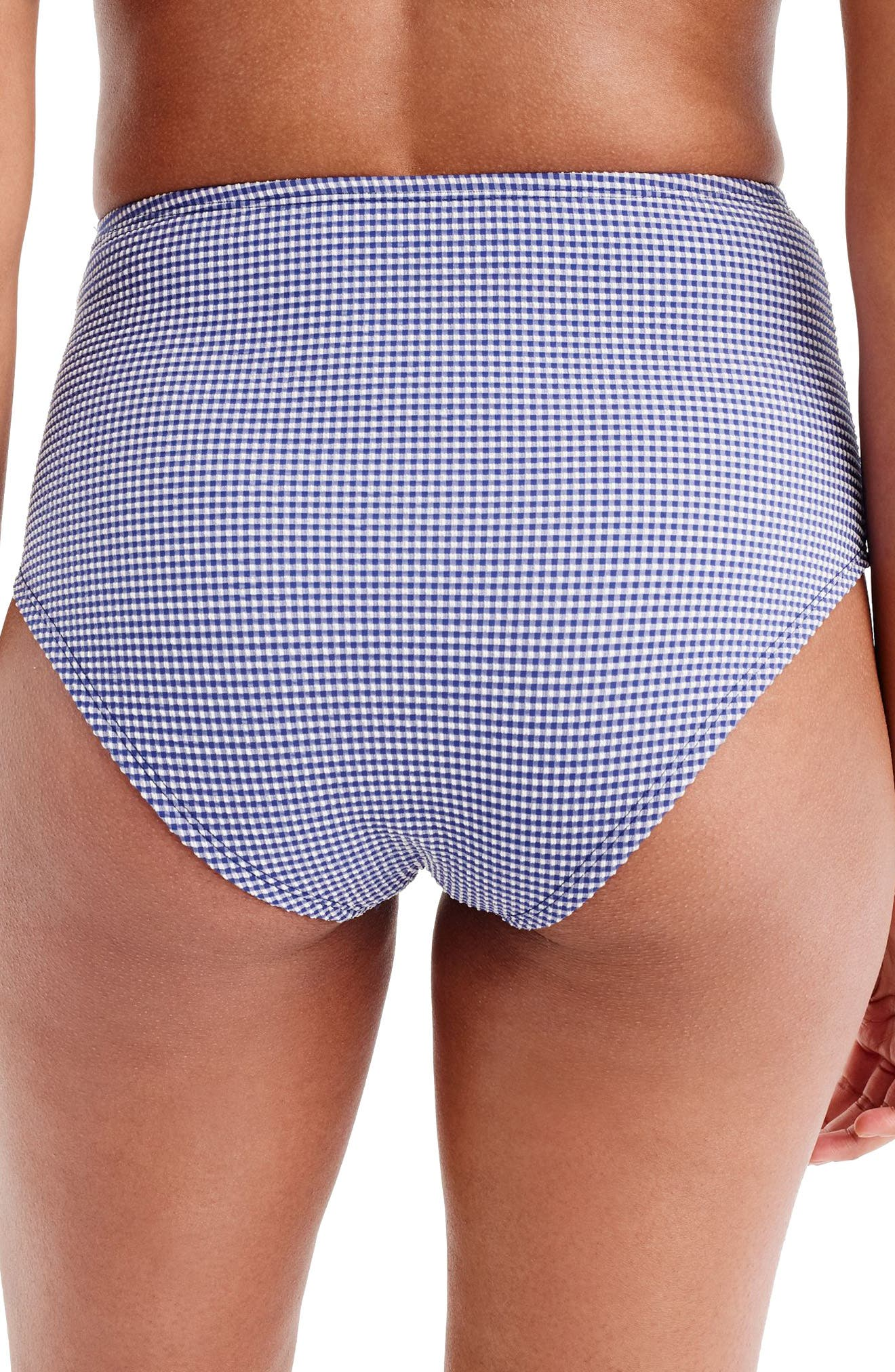 High Waist Bikini Bottoms,                             Alternate thumbnail 2, color,