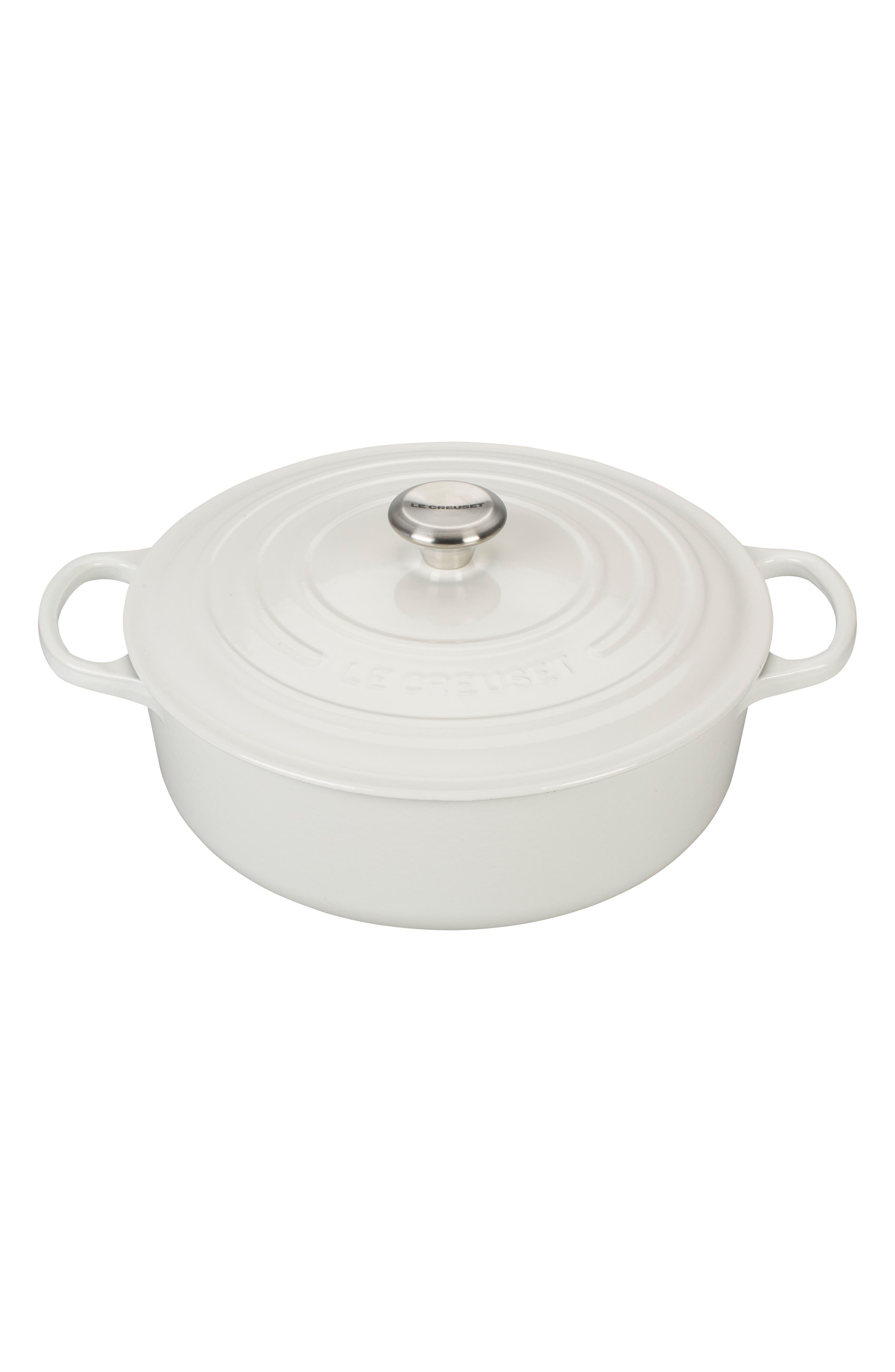Signature 6 3/4-Quart Round Wide French/Dutch Oven,                             Main thumbnail 1, color,                             100