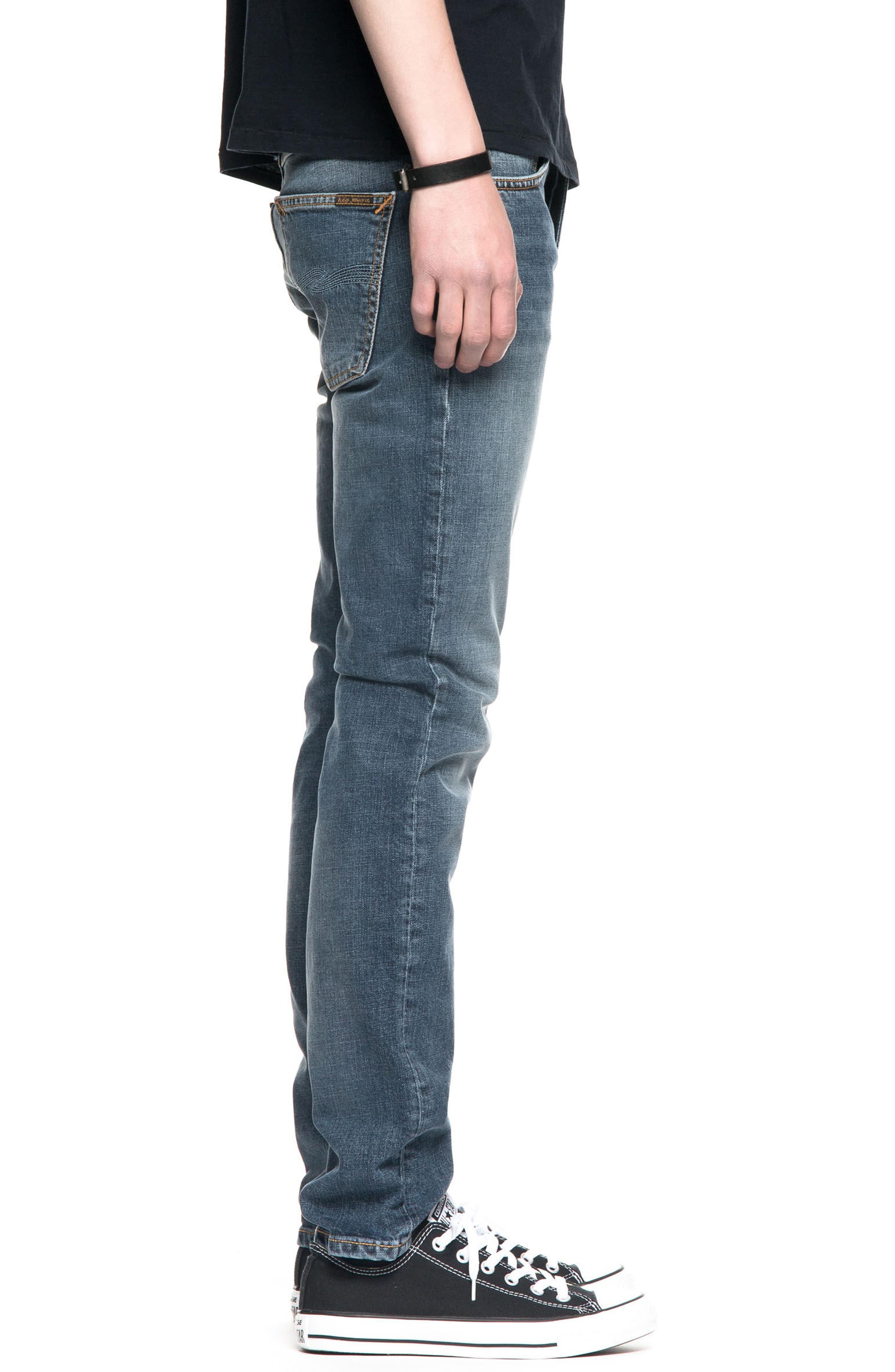 Grim Tim Slim Fit Jeans,                             Alternate thumbnail 3, color,                             460
