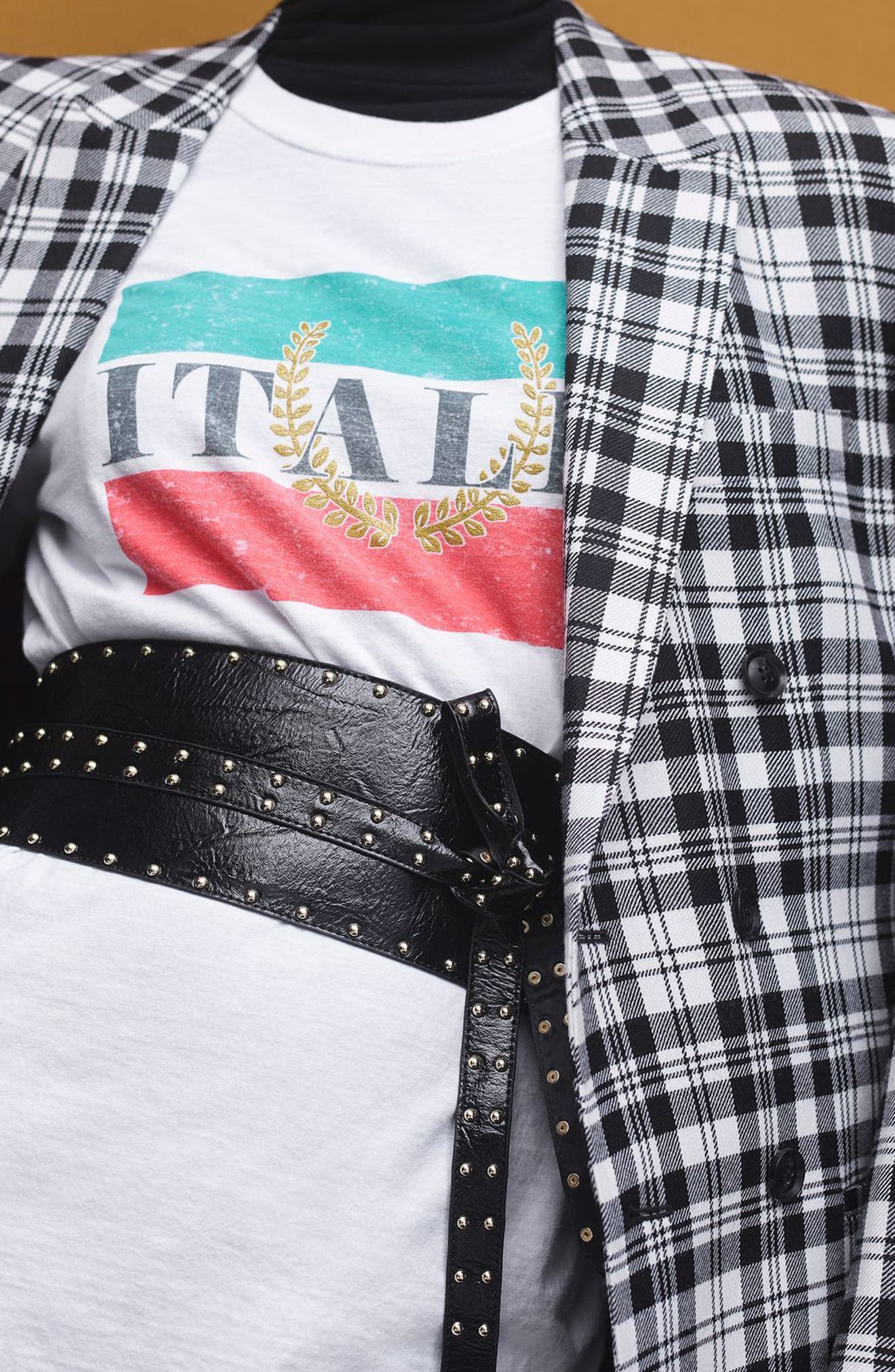 by Tee & Cake Italia Graphic Tee,                             Alternate thumbnail 5, color,                             100
