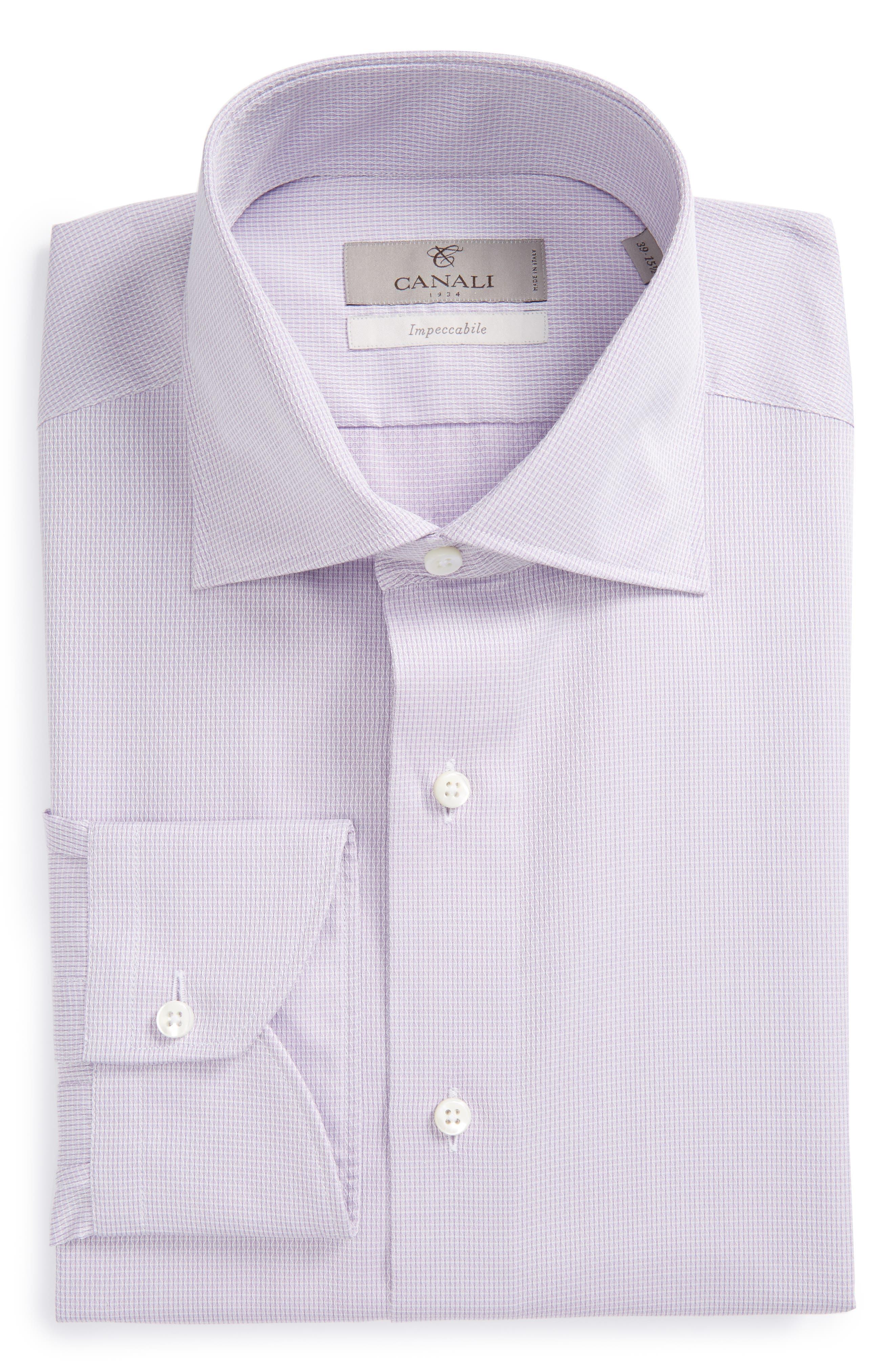 Regular Fit Geometric Dress Shirt,                         Main,                         color, 510