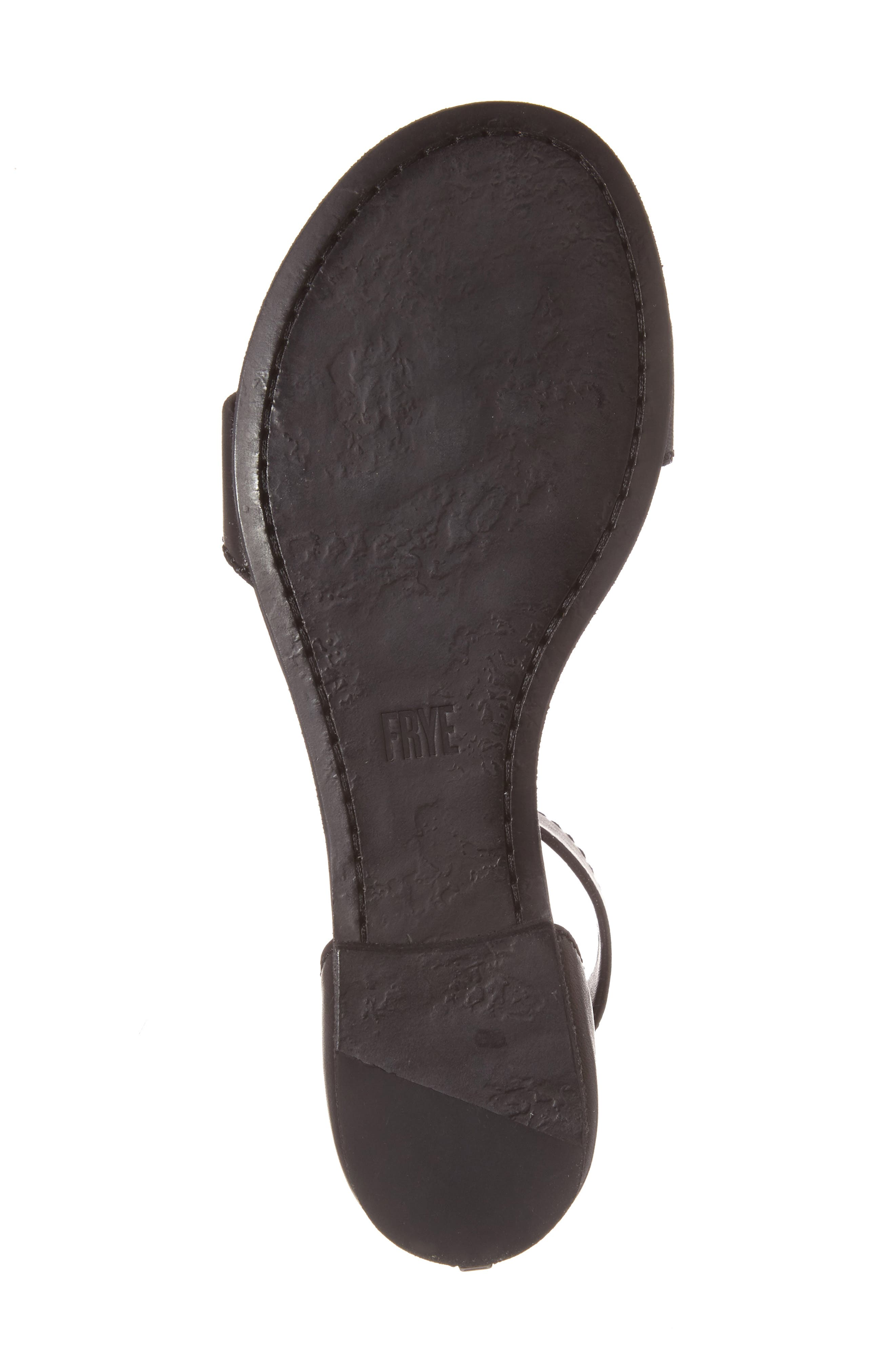 Carson Ankle Strap Sandal,                             Alternate thumbnail 6, color,                             001
