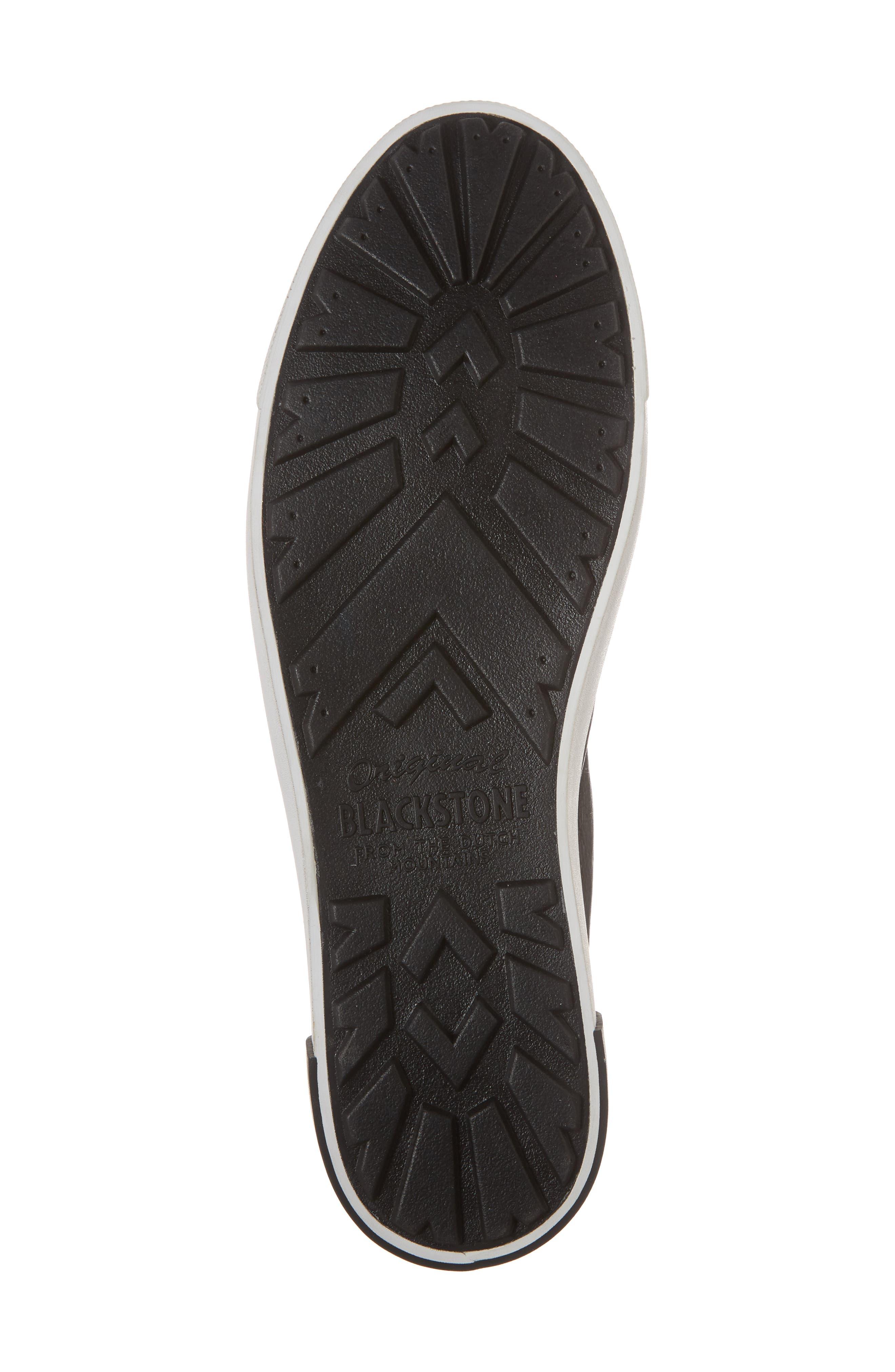 PM66 Low Top Sneaker,                             Alternate thumbnail 6, color,                             BLACK LEATHER