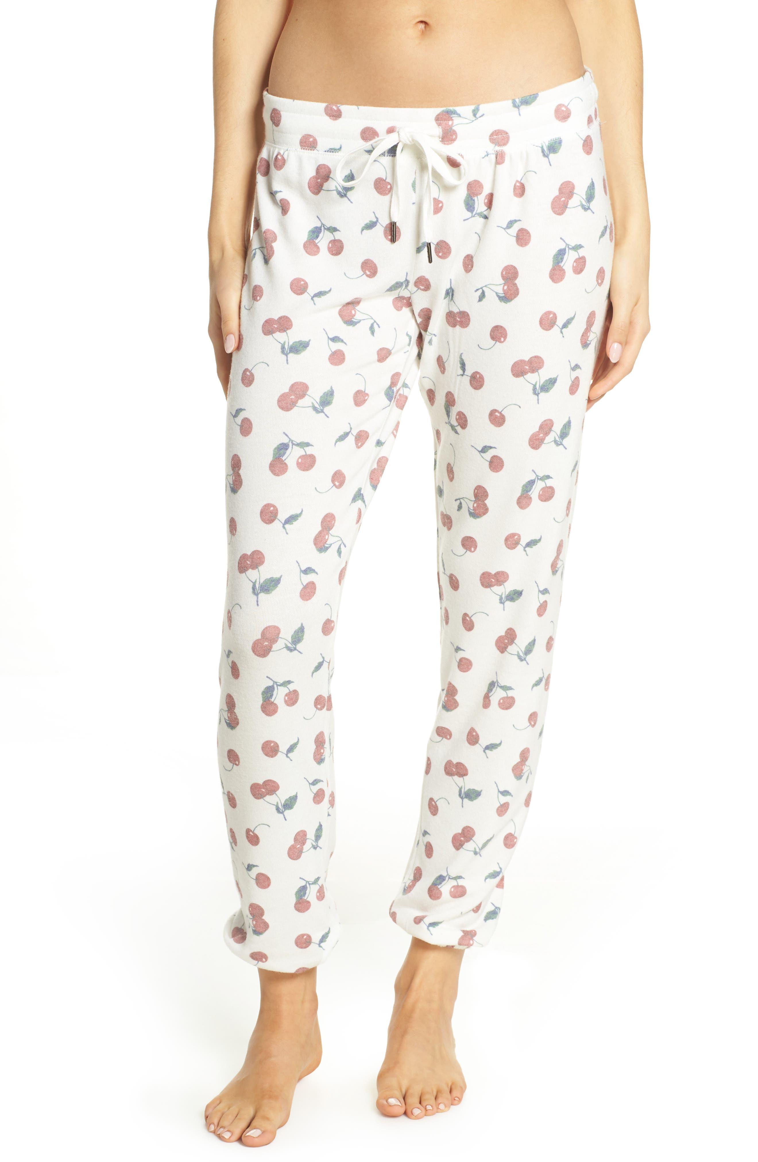 Pj Salvage Mon Cheri Pajama Pants, Ivory