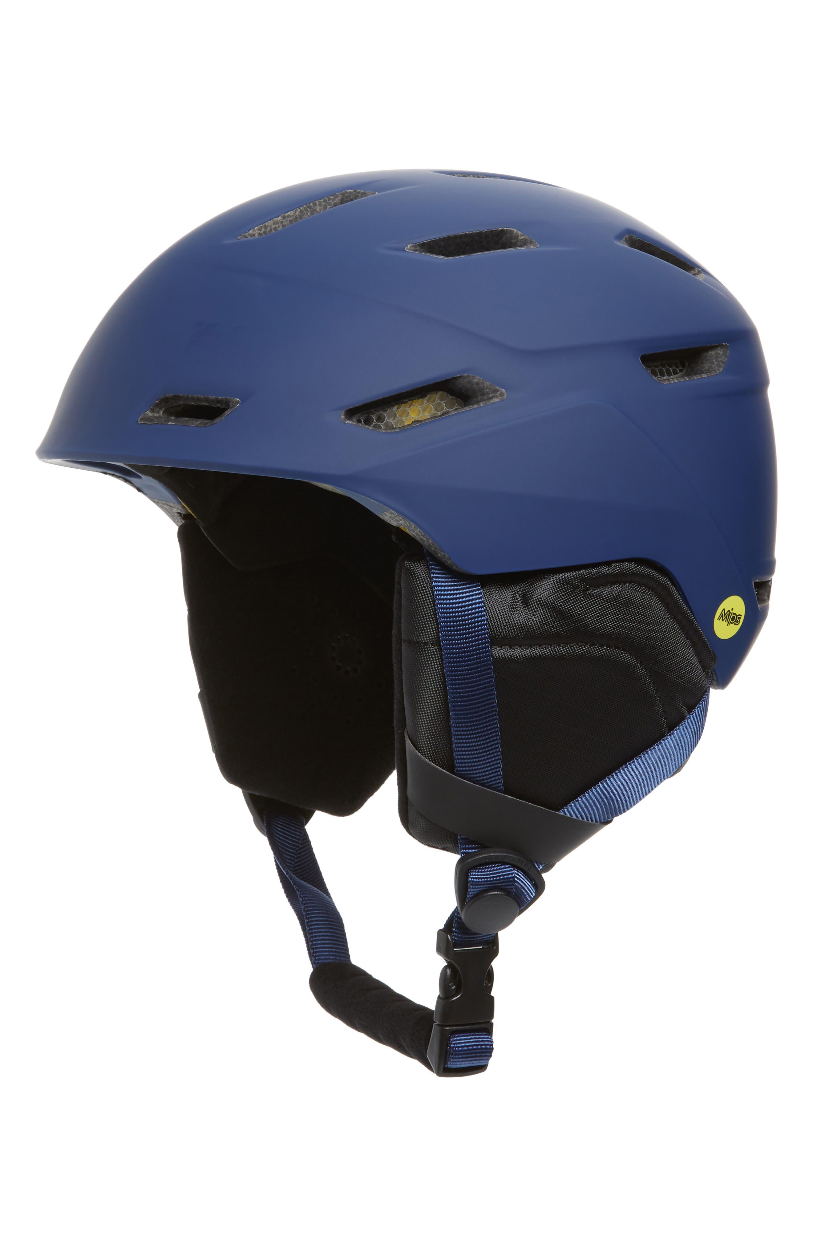 Mission MIPS Snow Helmet,                         Main,                         color, MATTE INK