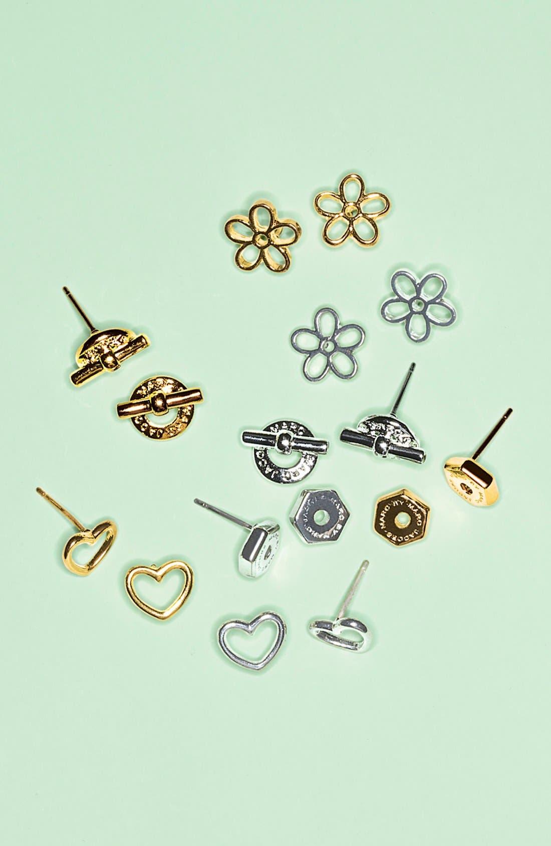Daisy Stud Earrings,                             Alternate thumbnail 3, color,                             041