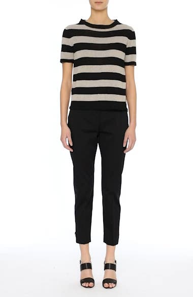 Filly Stripe Linen Sweater, video thumbnail
