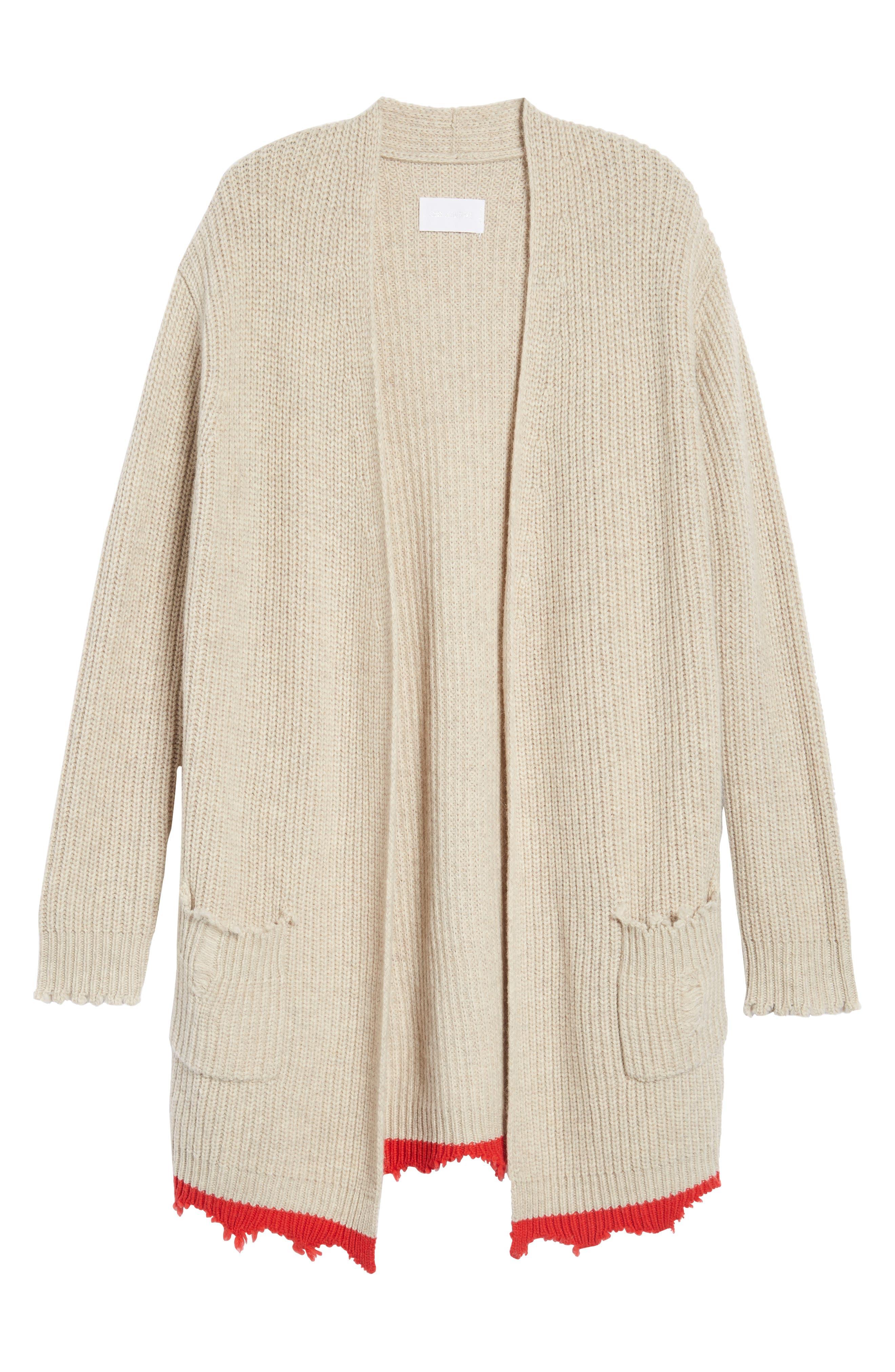 Rita Cardigan Sweater,                             Alternate thumbnail 6, color,