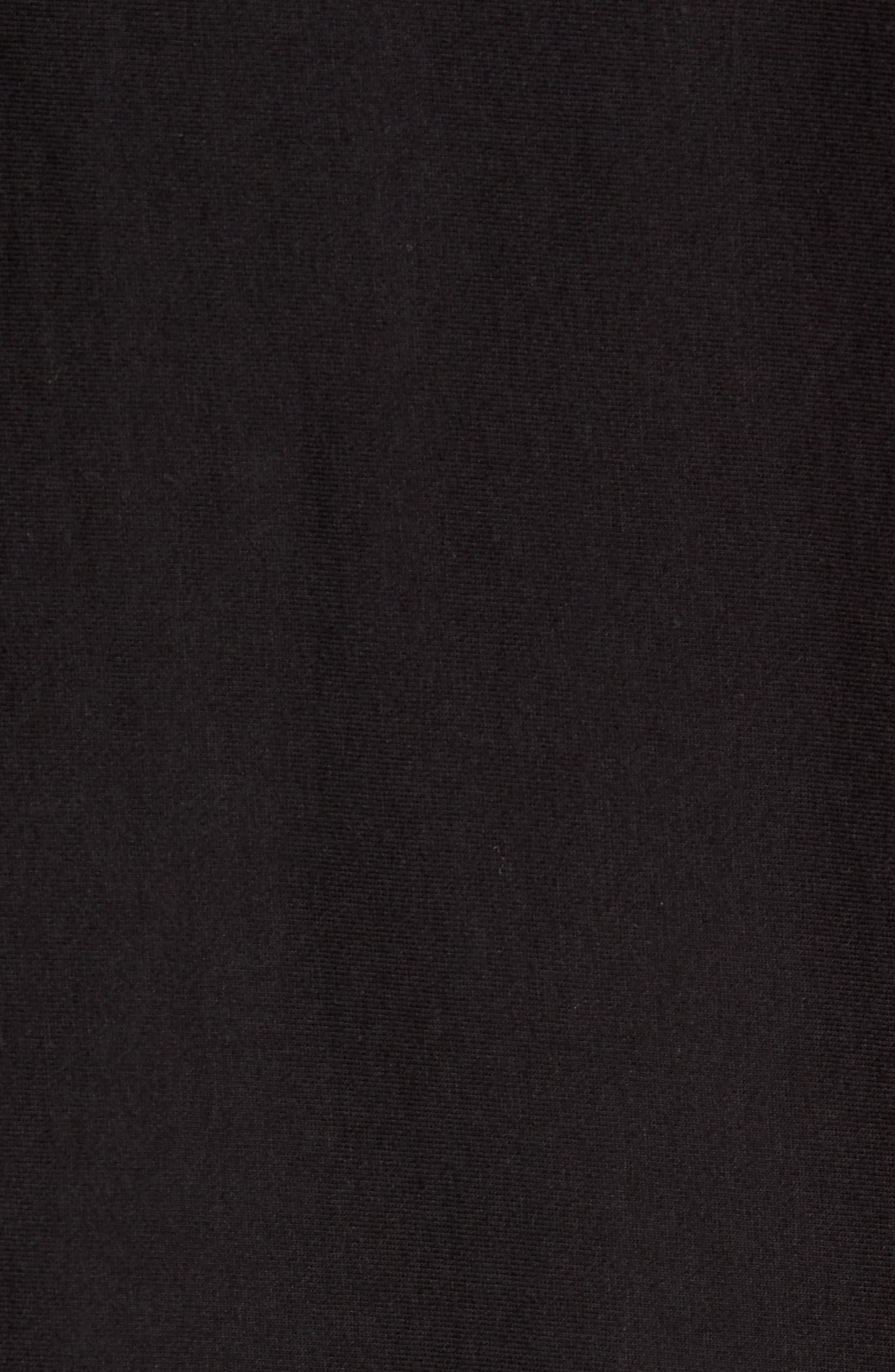 + Champion Script Sweatshirt,                             Alternate thumbnail 5, color,                             BLACK