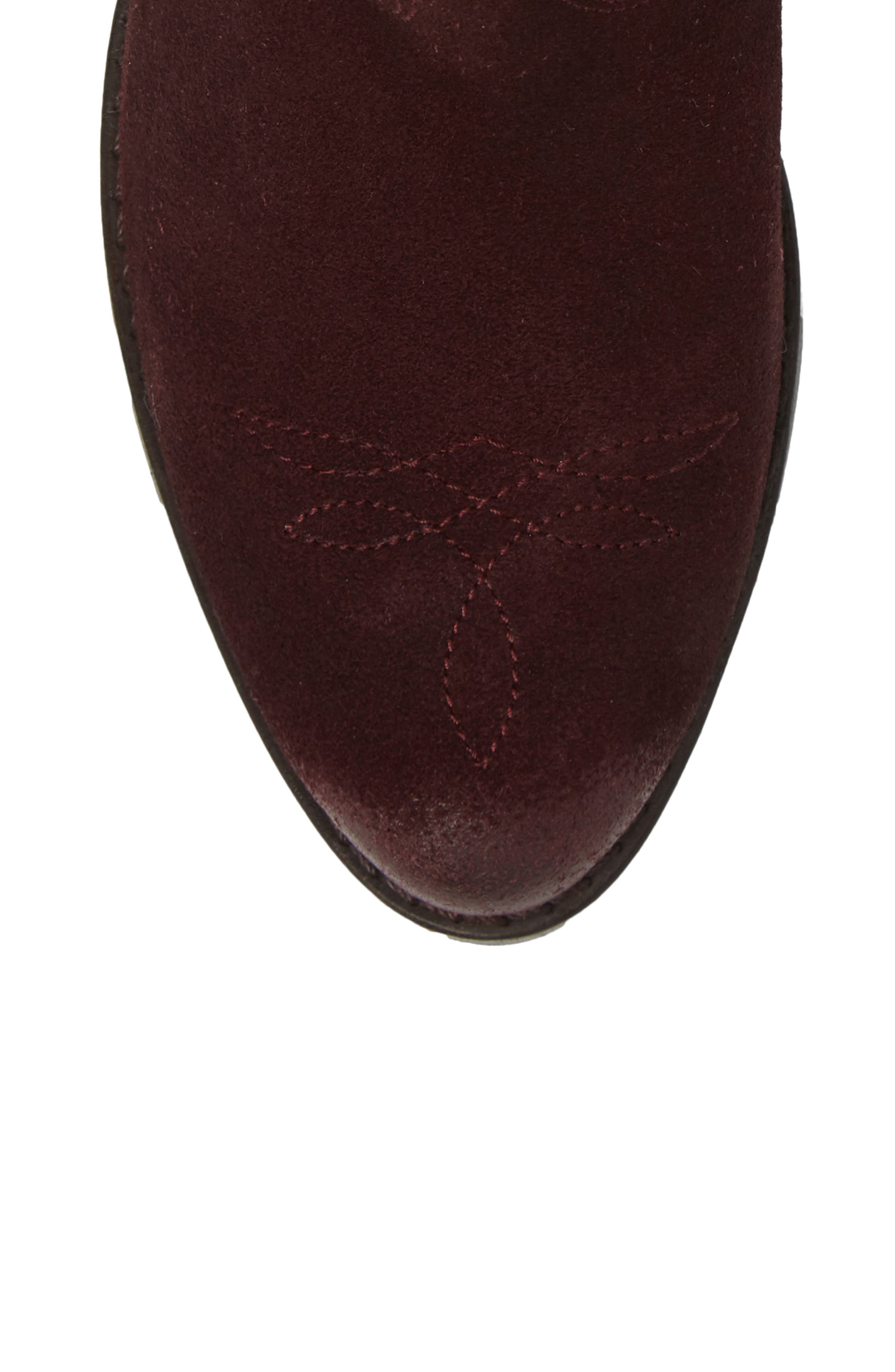 Zoey Perforated Bootie,                             Alternate thumbnail 20, color,