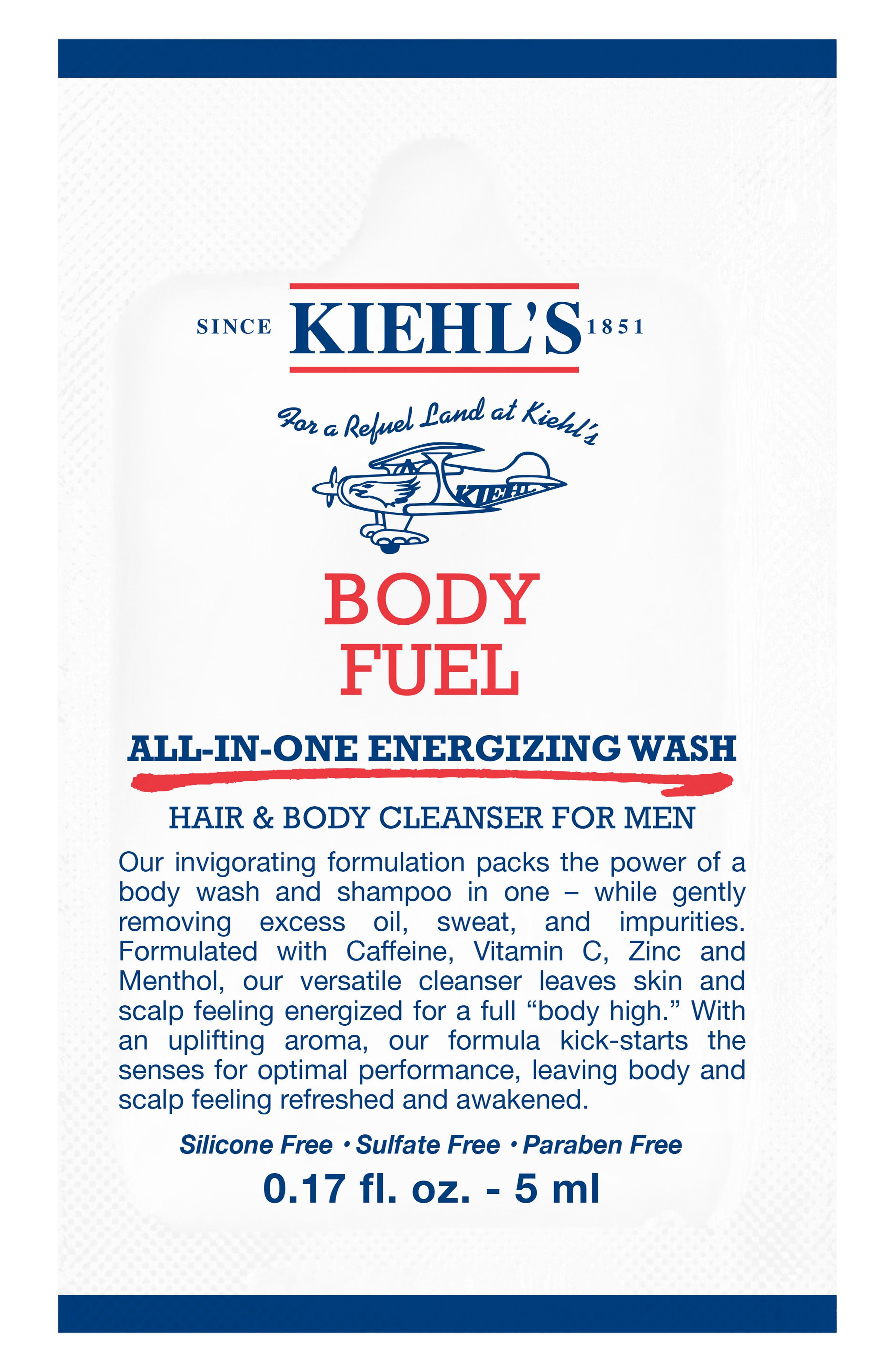 Body Fuel All-in-One Energizing & Conditioning Wash,                             Alternate thumbnail 2, color,                             NO COLOR