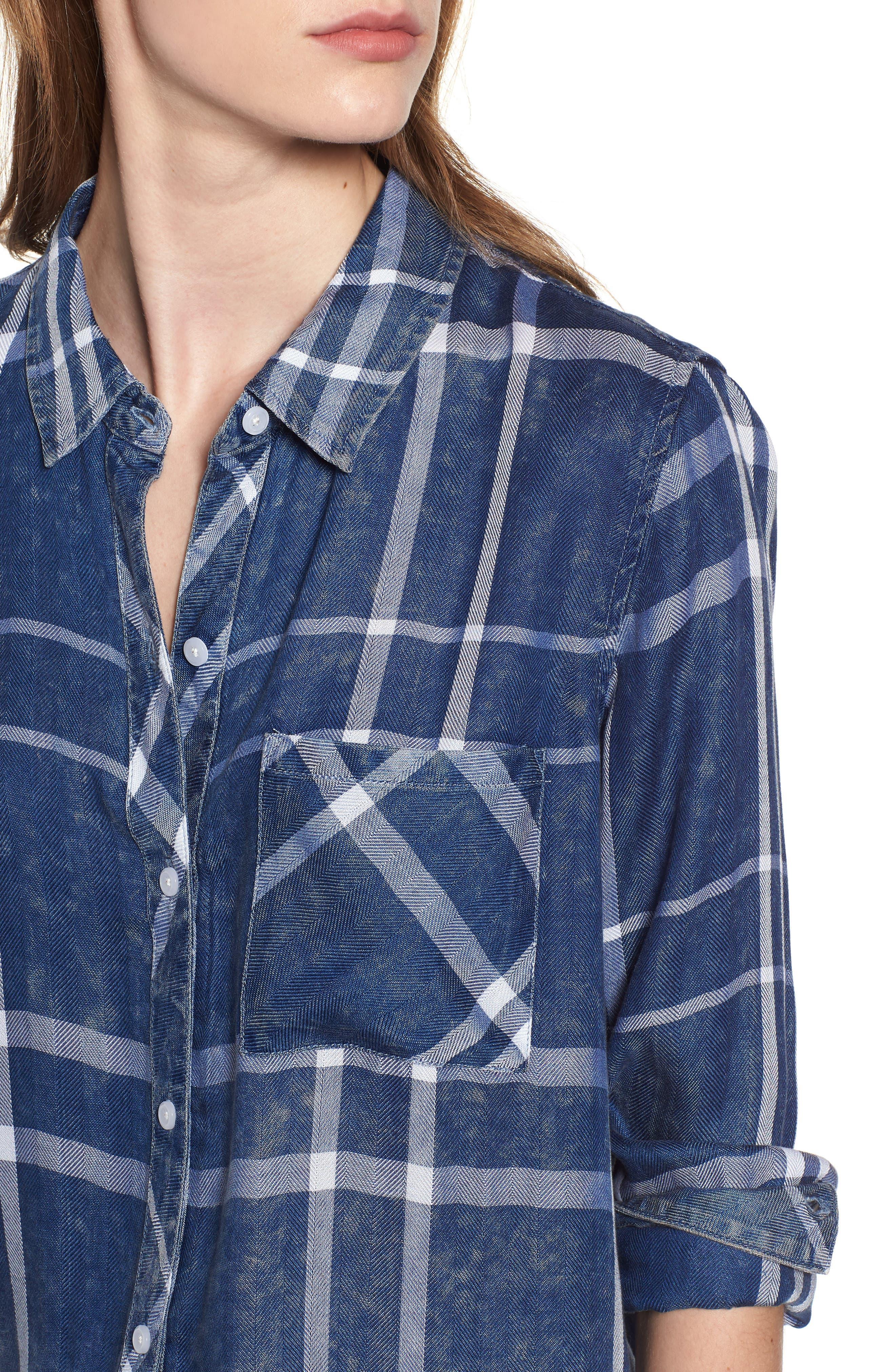 Hunter Plaid Shirt,                             Alternate thumbnail 484, color,