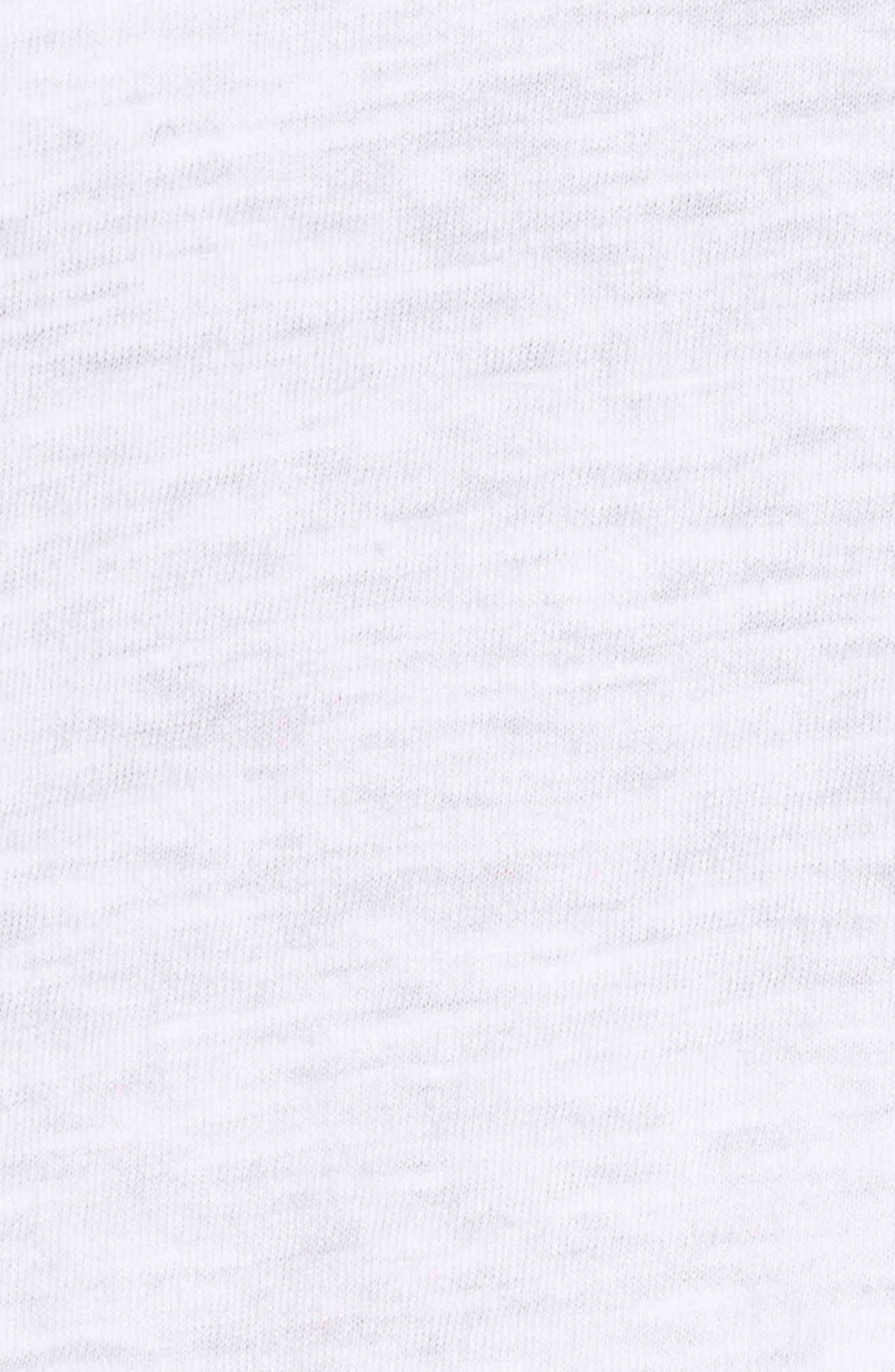 Organic Cotton V-Neck Tee,                             Alternate thumbnail 87, color,