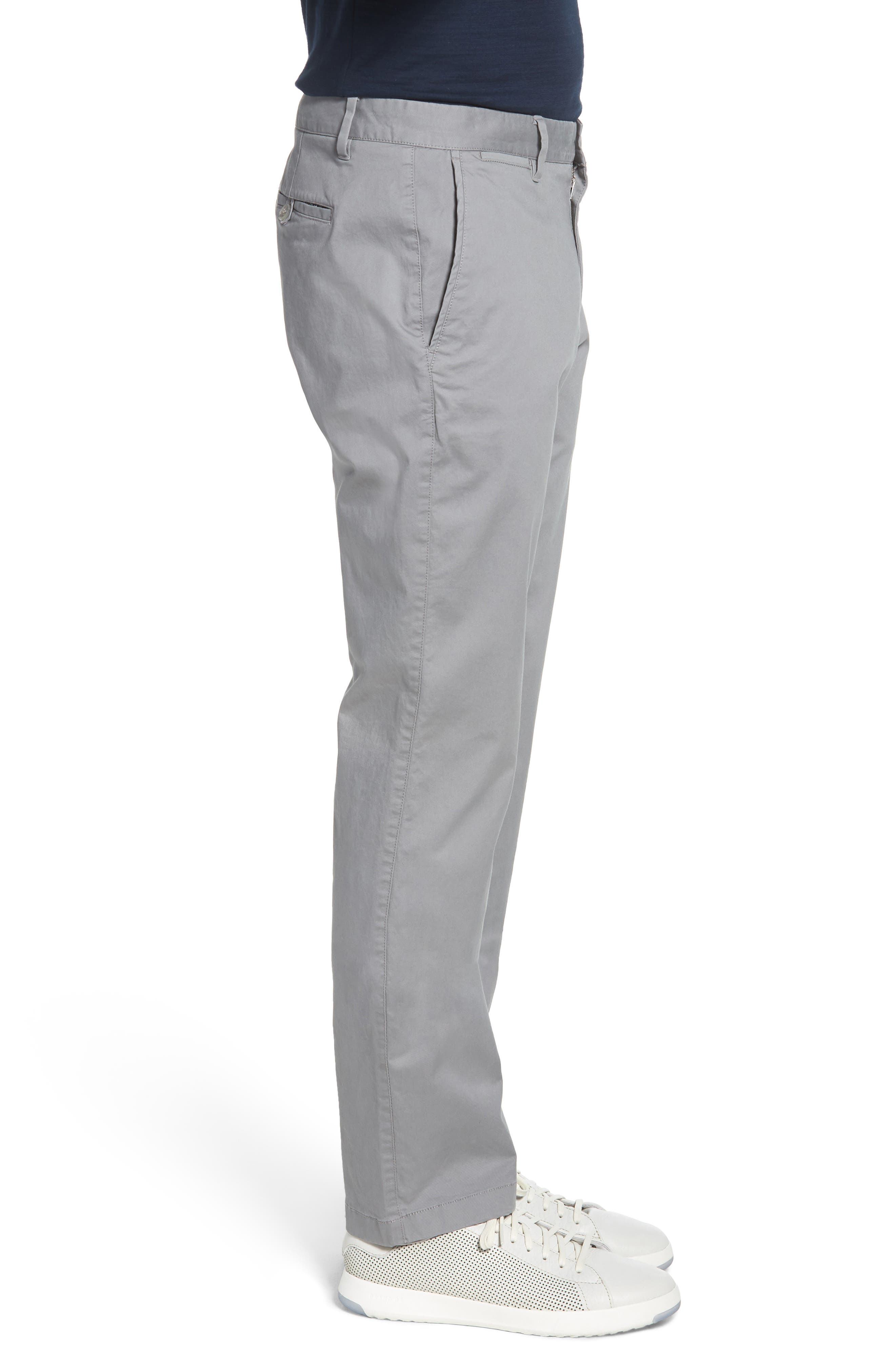 Summer Weight Slim Fit Stretch Chinos,                             Alternate thumbnail 3, color,                             020