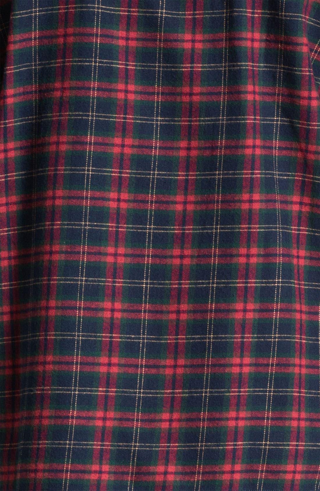 '824' Flannel Pajama Set,                             Alternate thumbnail 78, color,