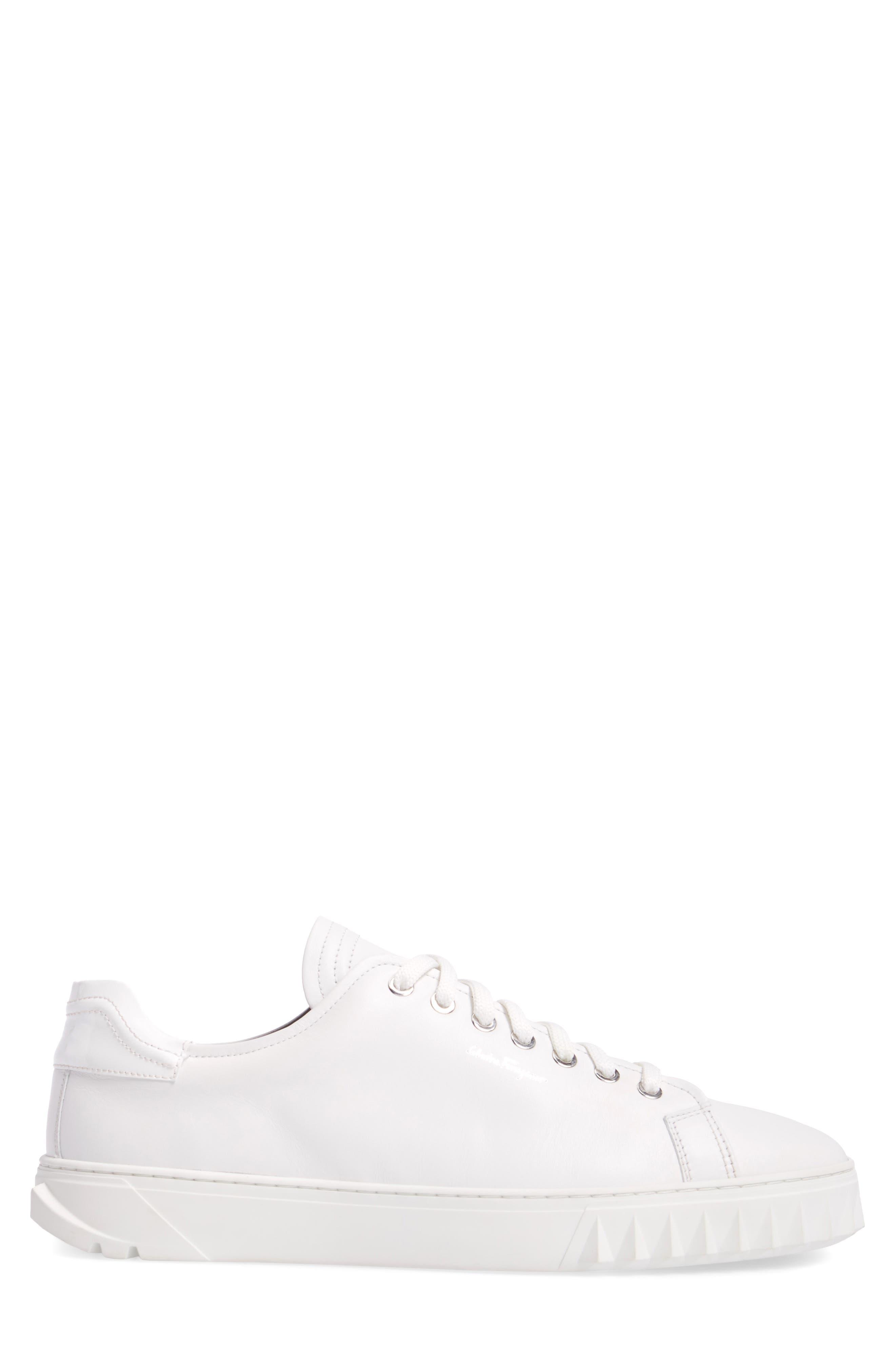 Cube Sneaker,                             Alternate thumbnail 3, color,                             BIANCO