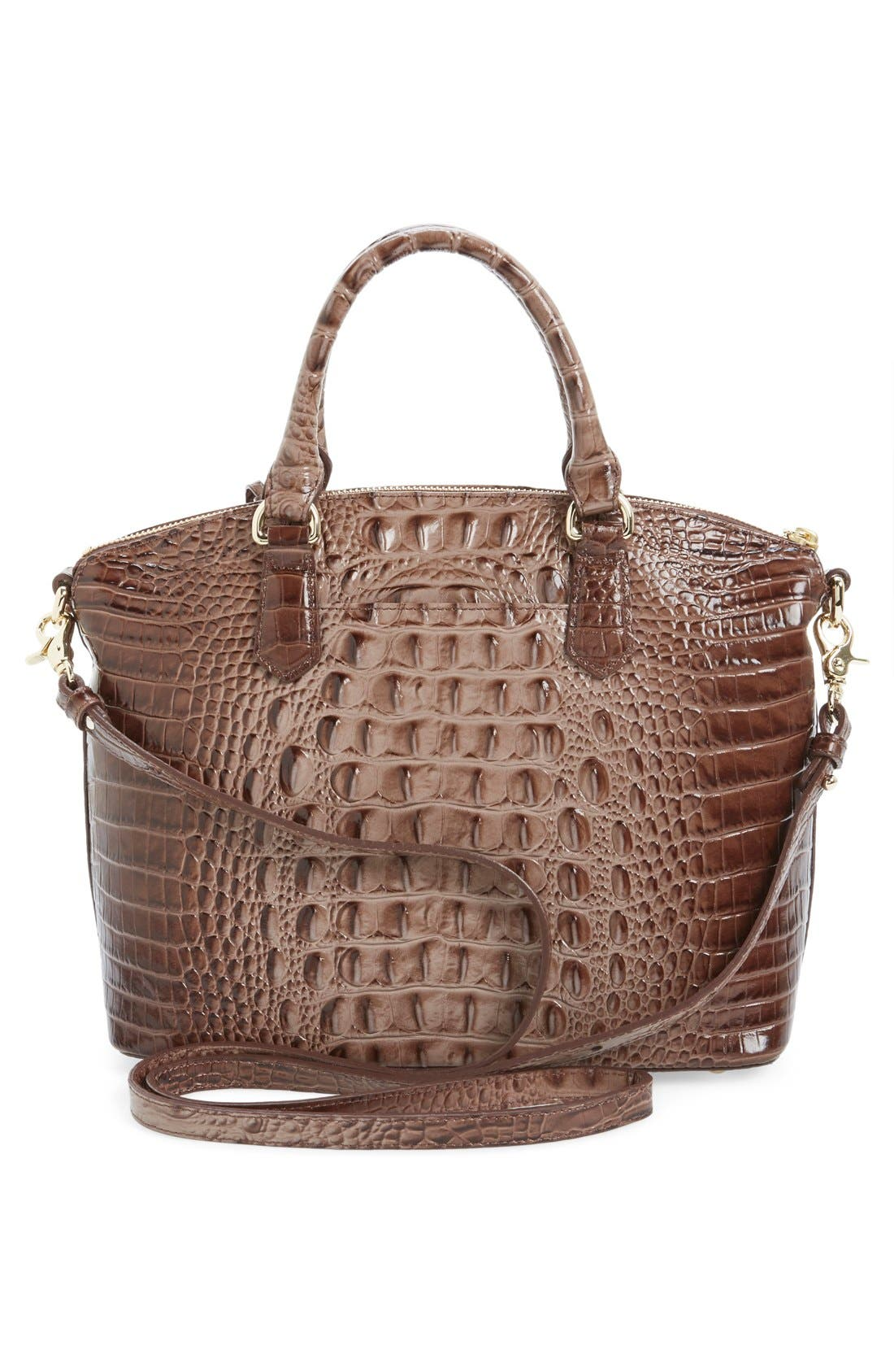 'Medium Duxbury' Croc Embossed Leather Satchel,                             Alternate thumbnail 53, color,