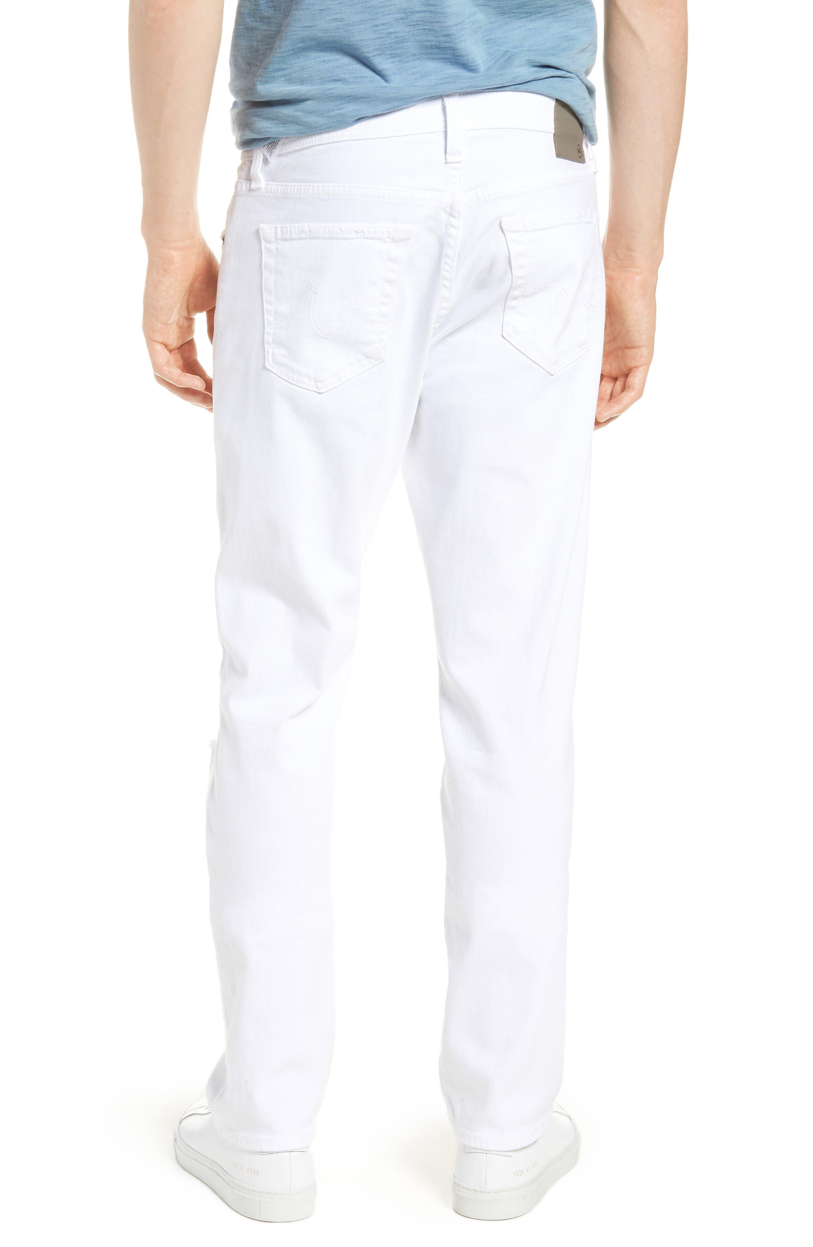 Everett Slim Straight Leg Jeans,                             Alternate thumbnail 2, color,                             129