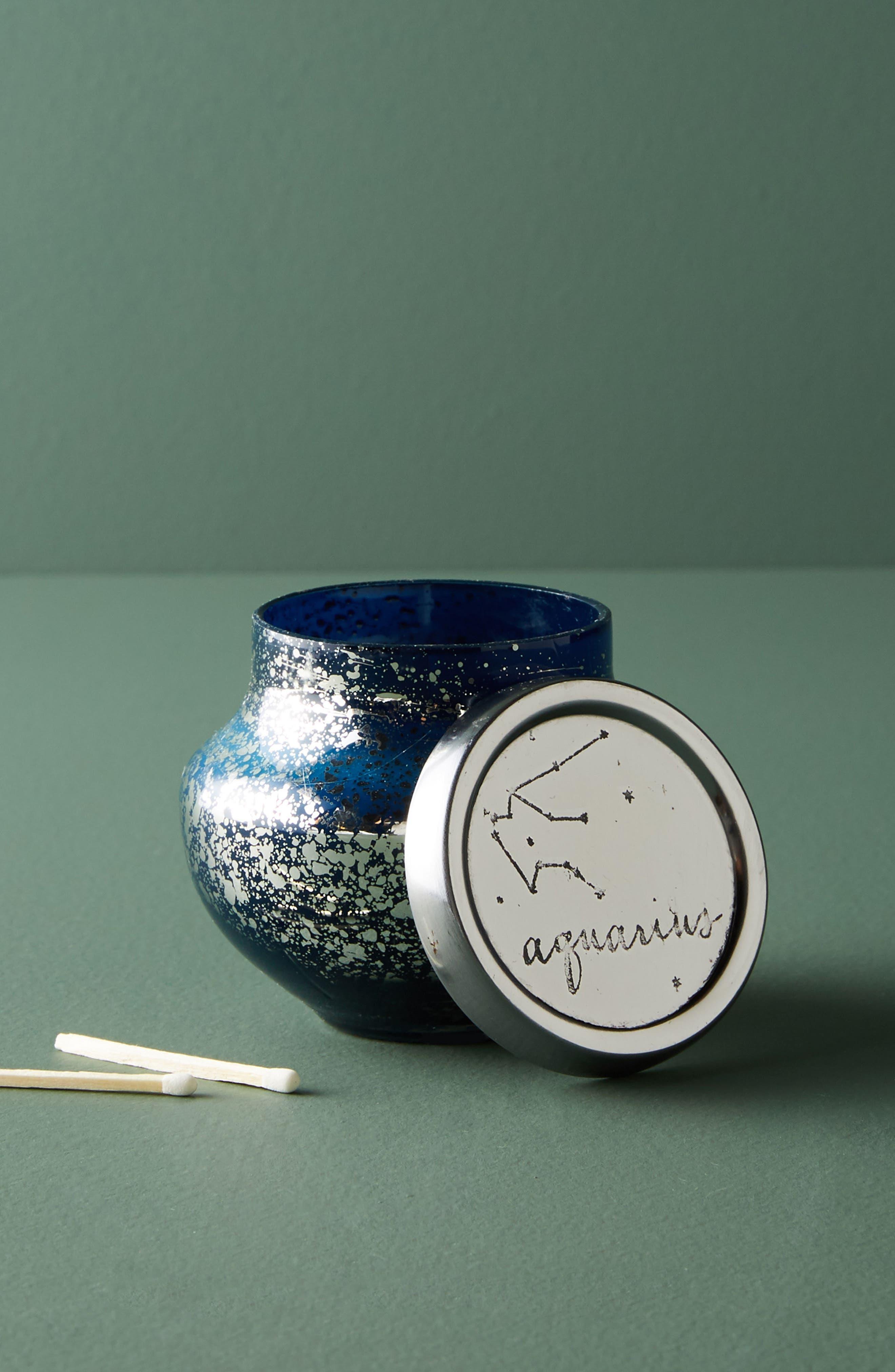 Capri Blue Zodiac Mini Jar Candle,                             Main thumbnail 1, color,                             300