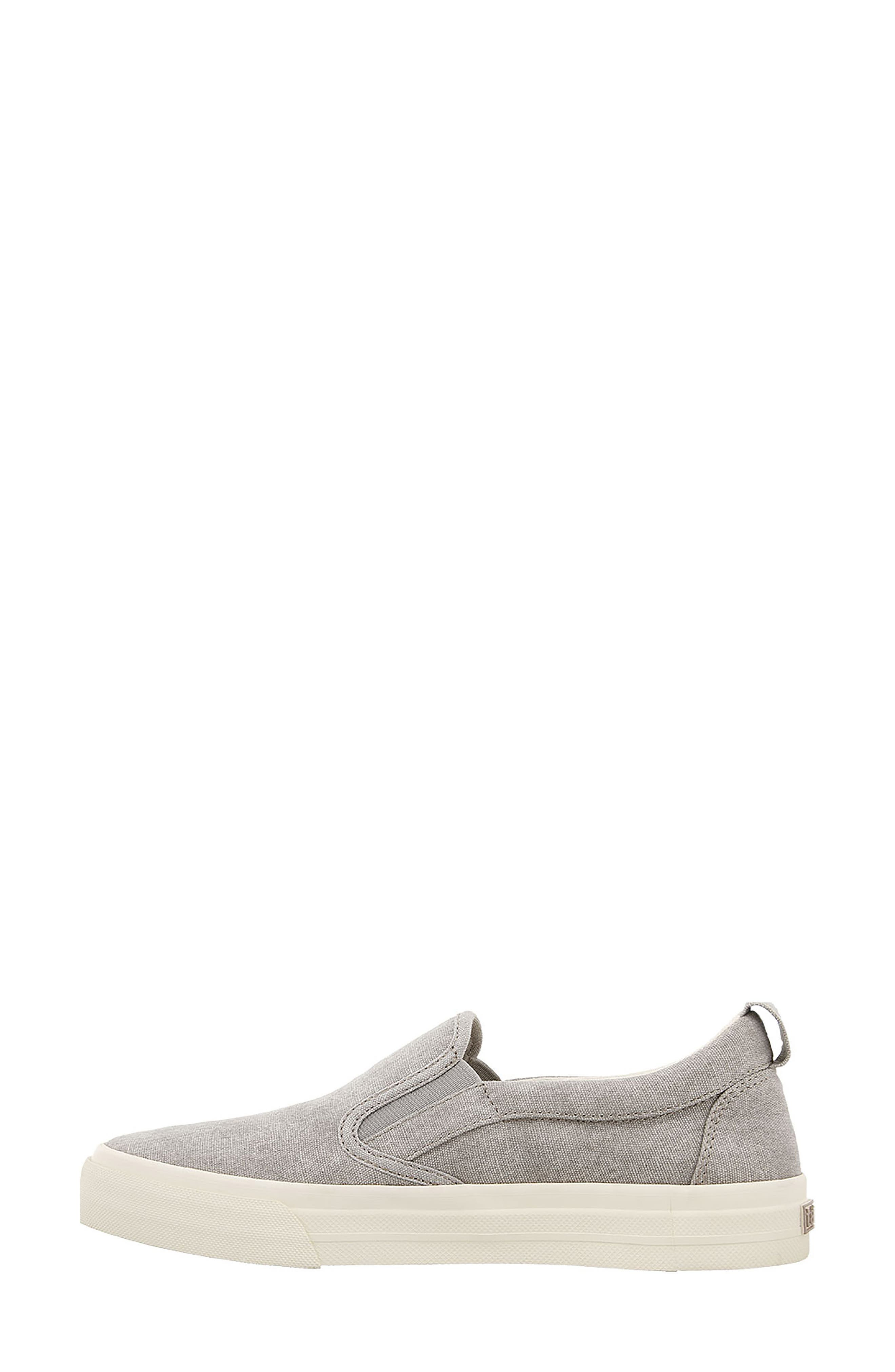 Soul Slip-On Sneaker,                             Alternate thumbnail 3, color,                             GREY WASH CANVAS