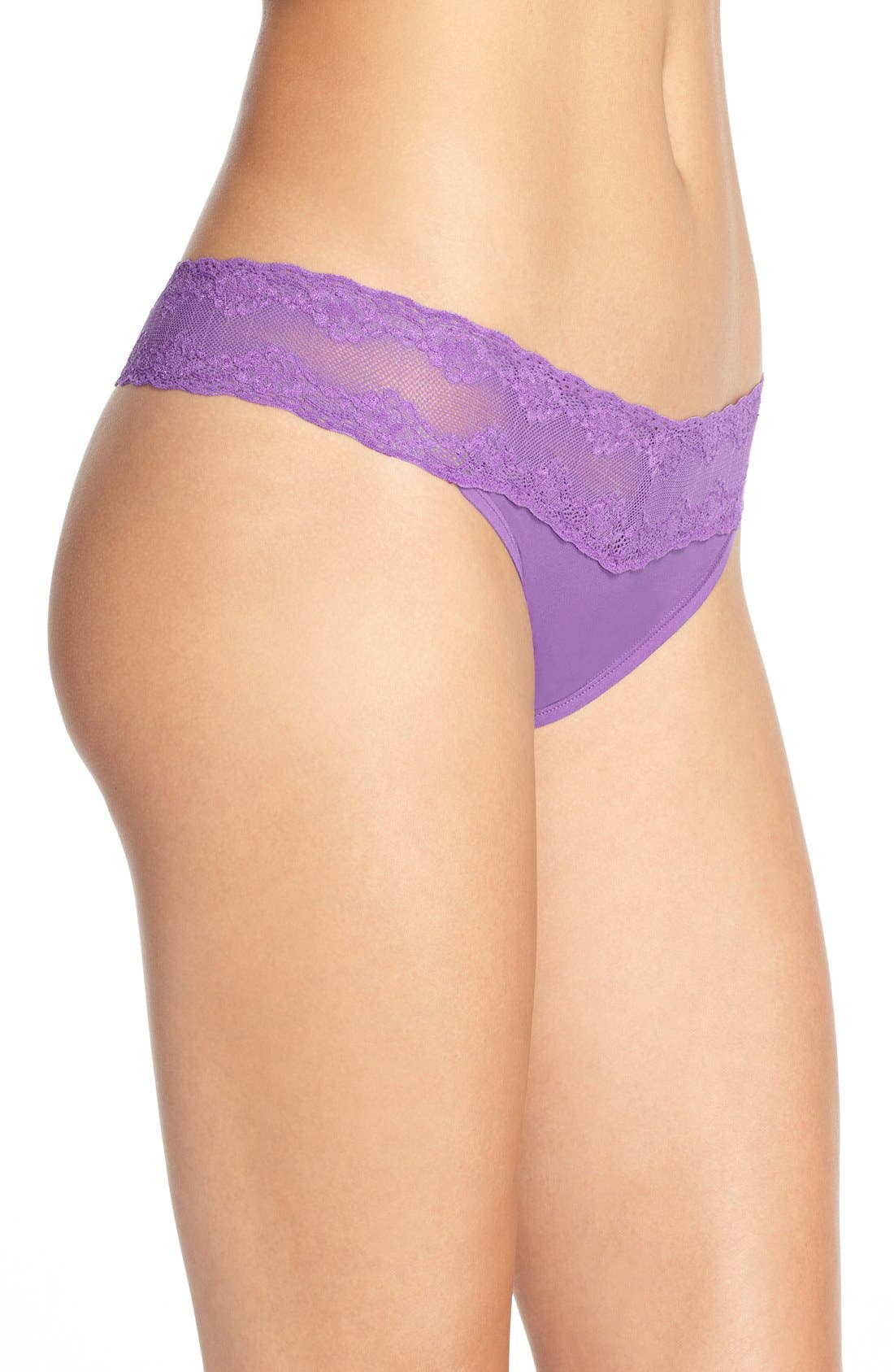 Bliss Perfection Thong,                             Alternate thumbnail 362, color,