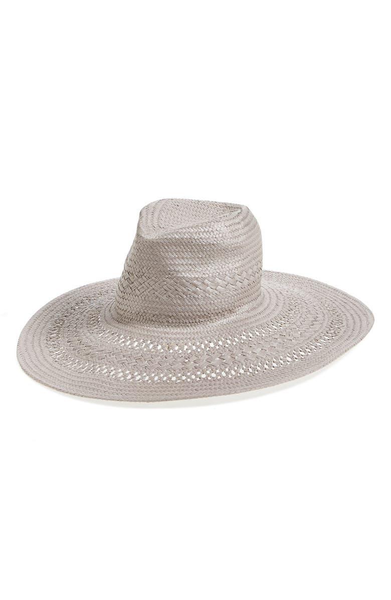 fb881be679f BCBGeneration Basket Weave Floppy Straw Hat