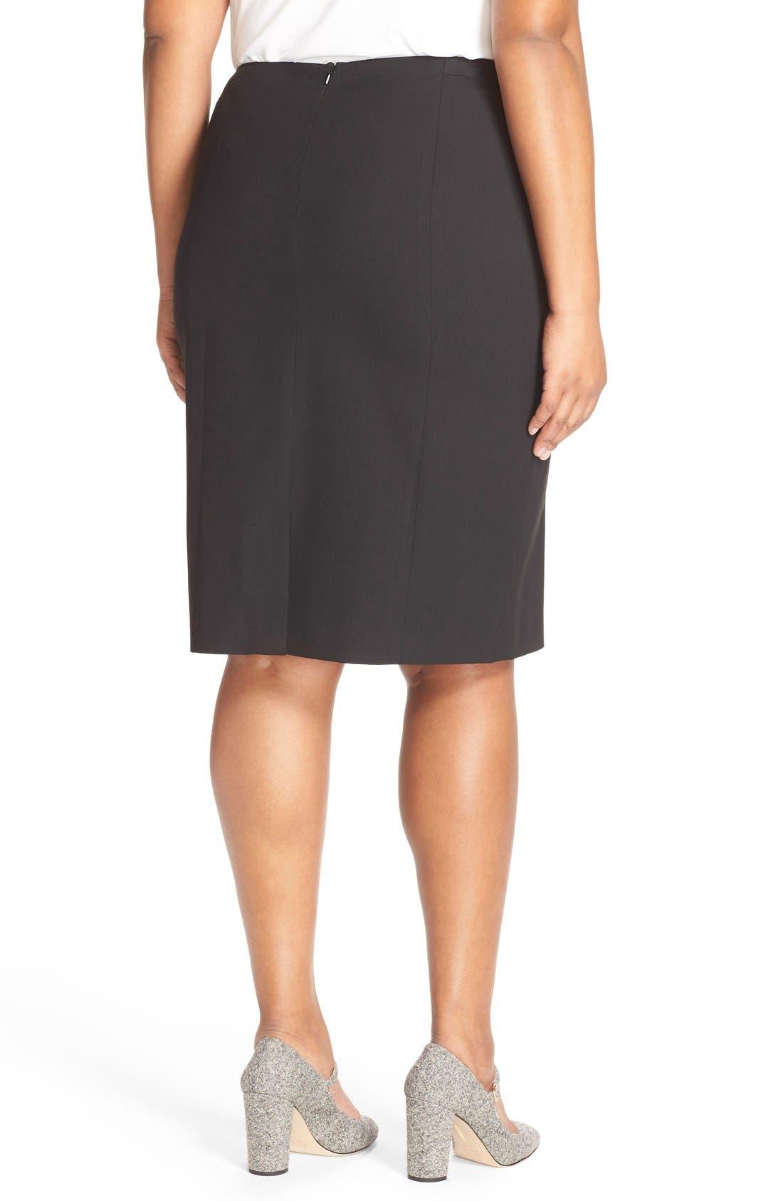 'Ela' Suit Skirt,                             Alternate thumbnail 2, color,                             001