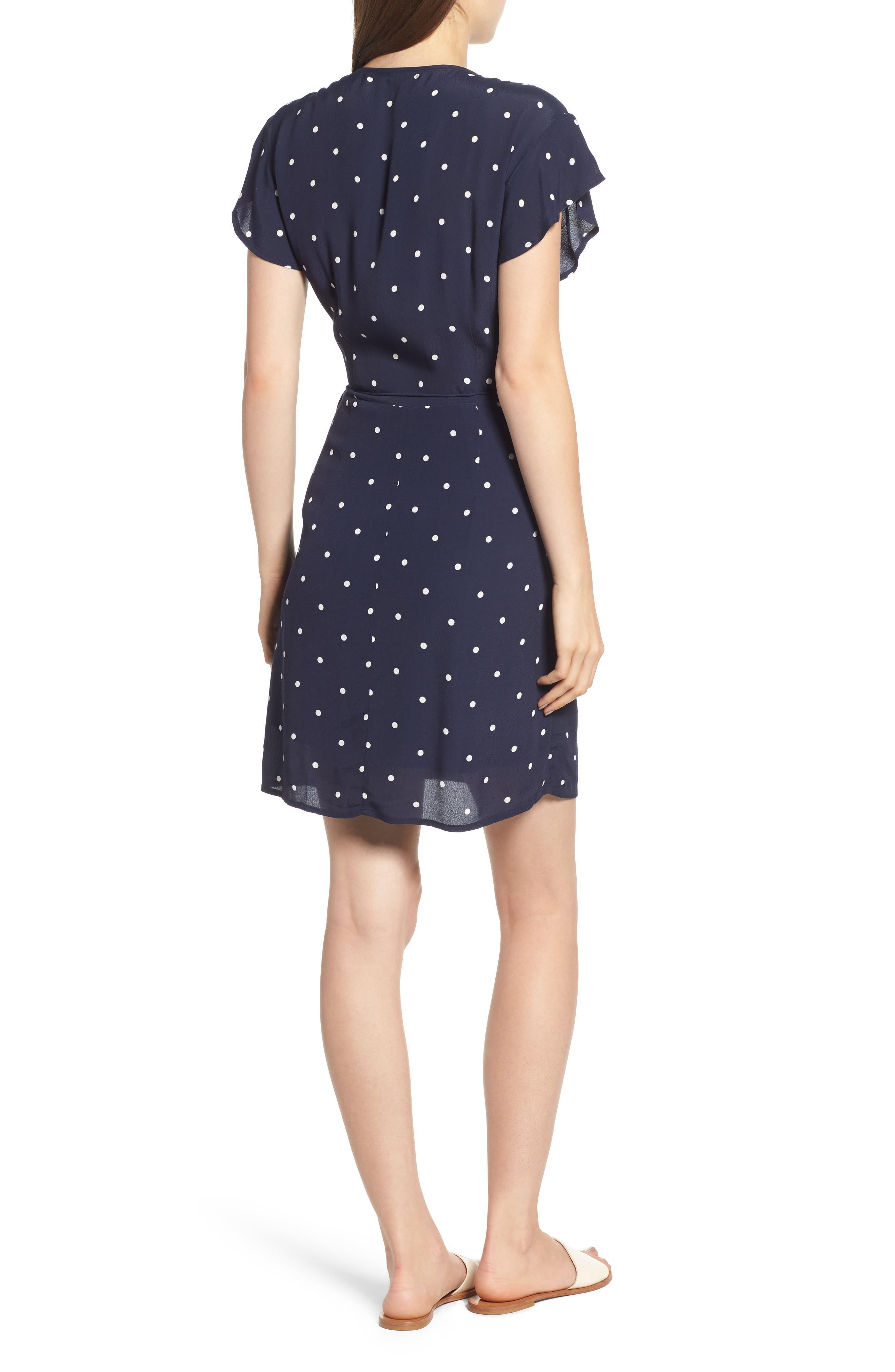 Brenna Wrap Dress,                             Alternate thumbnail 2, color,                             482