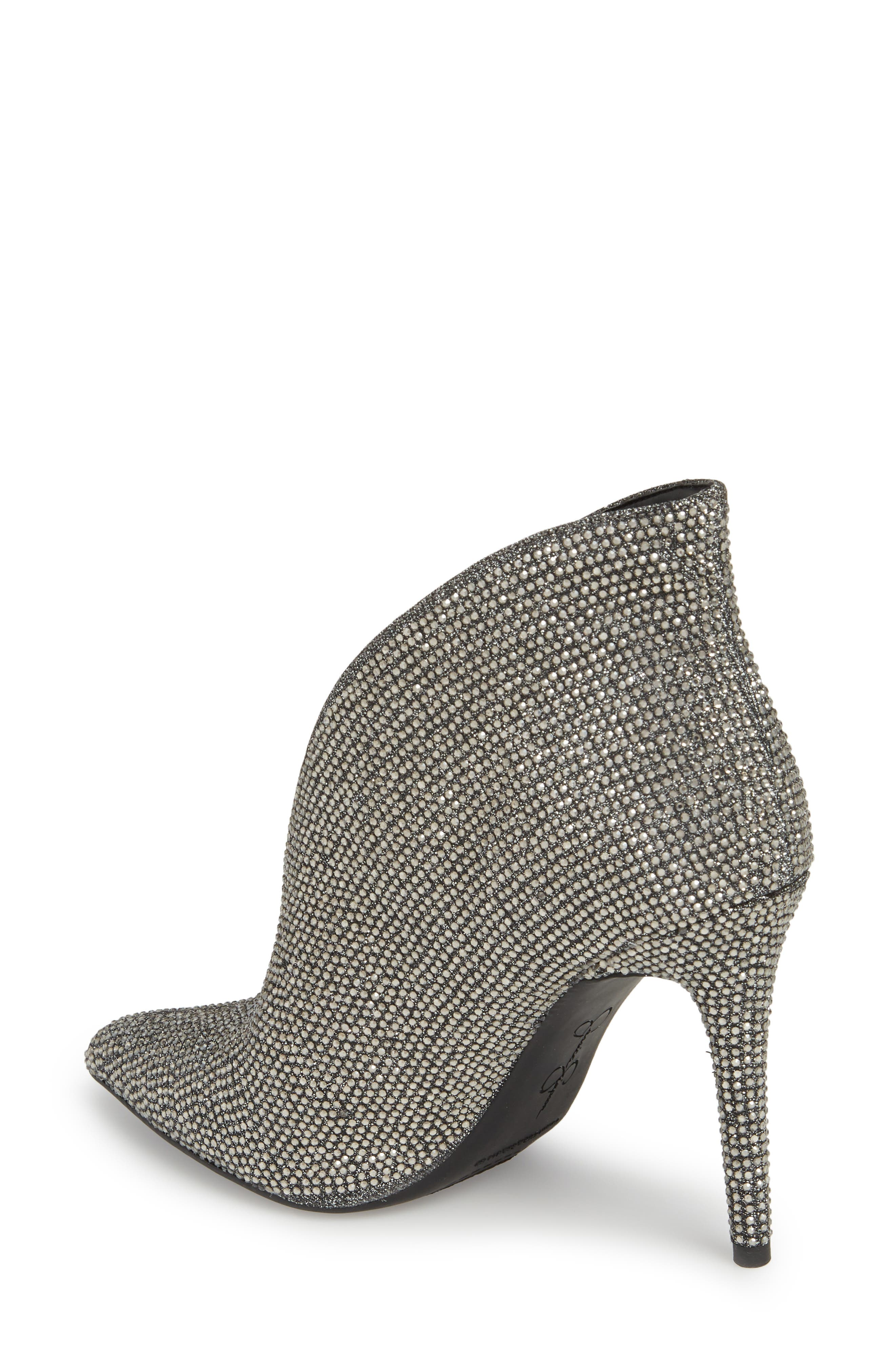 Lasnia Embellished Bootie,                             Alternate thumbnail 2, color,                             PEWTER MULTI