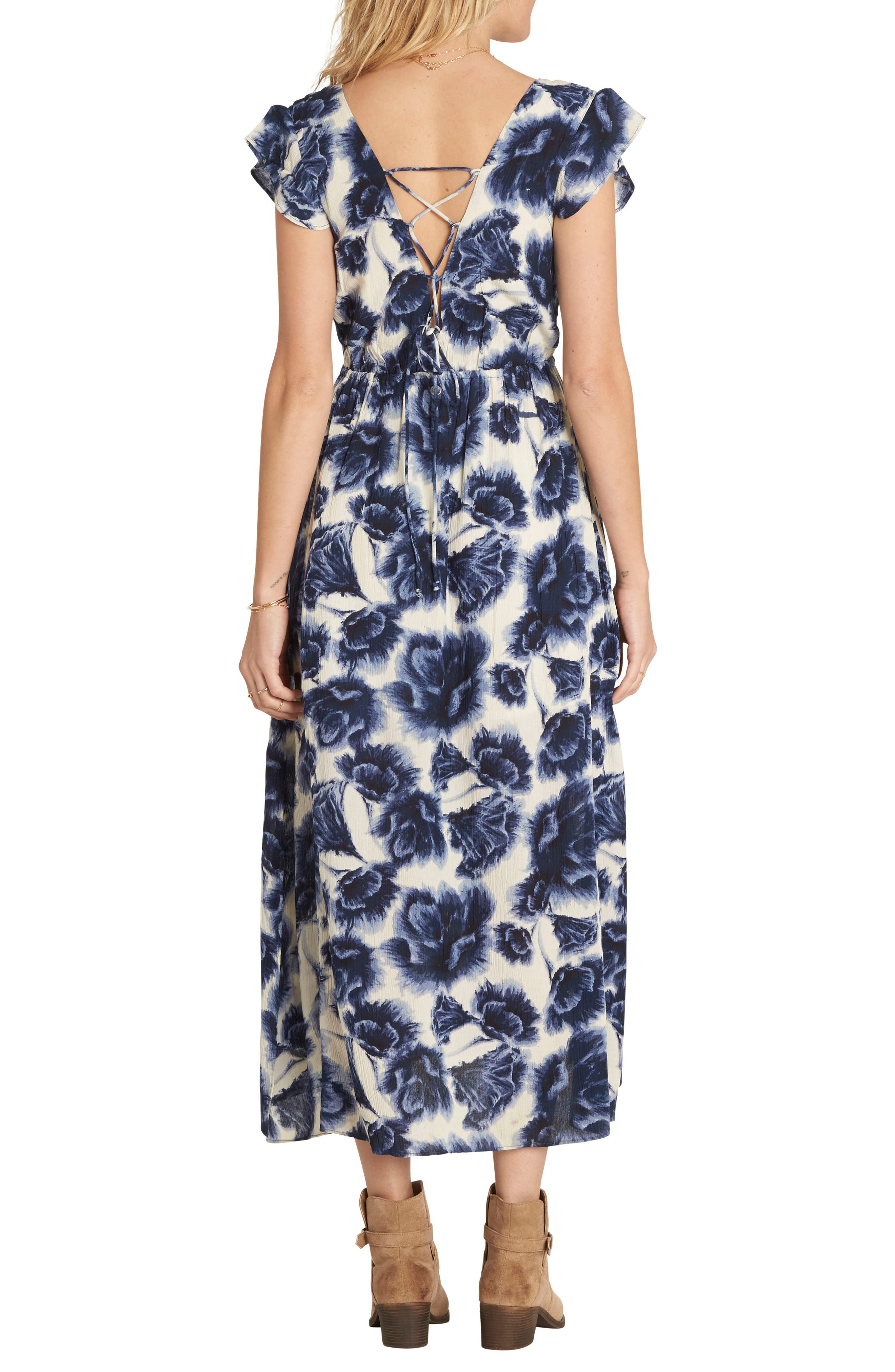 Don't Mess Floral Print Dress,                             Alternate thumbnail 2, color,                             190