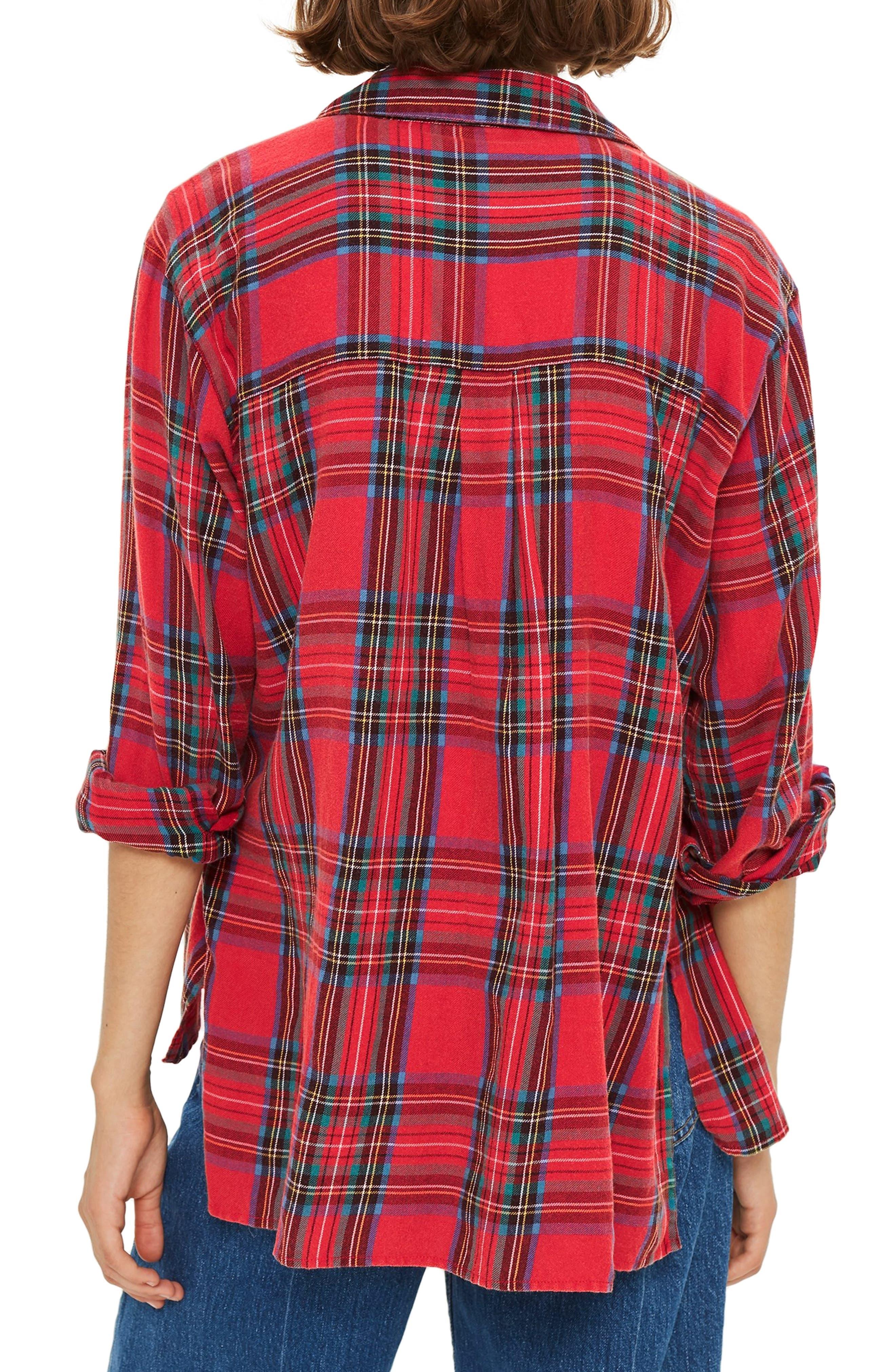 Plaid Shirt,                             Alternate thumbnail 2, color,                             600