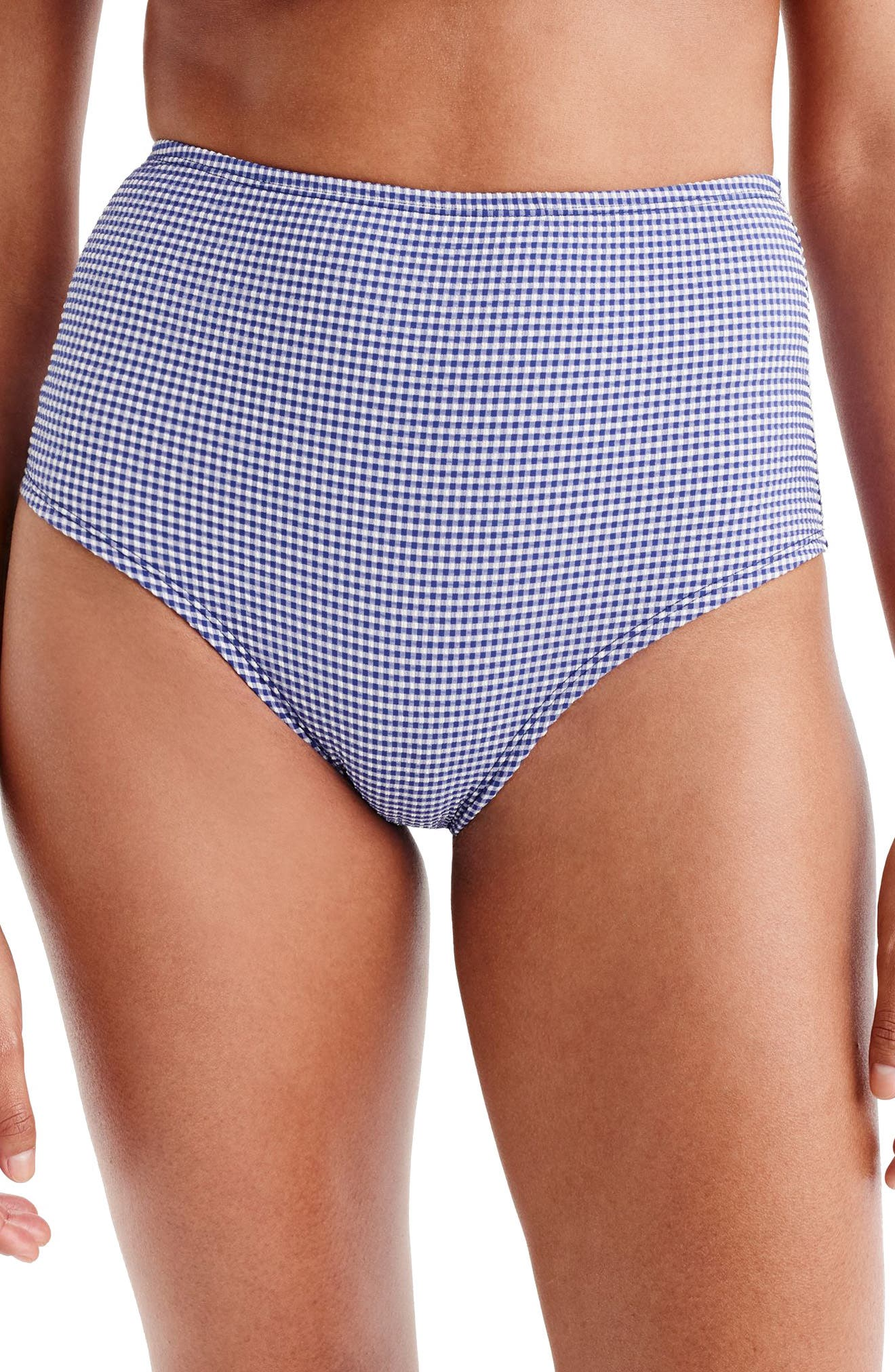 High Waist Bikini Bottoms,                         Main,                         color,