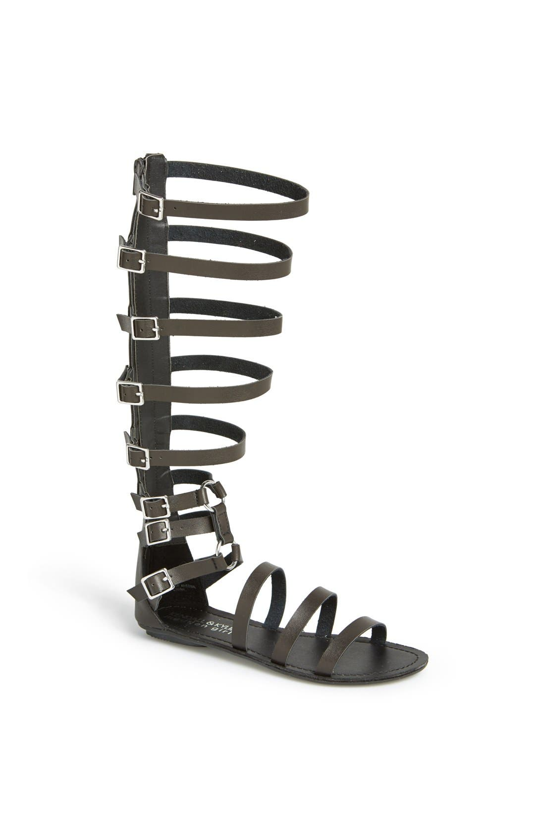 KENDALL & KYLIE KENDALL + KYLIE Madden Girl 'Seriious' Sandal, Main, color, 001