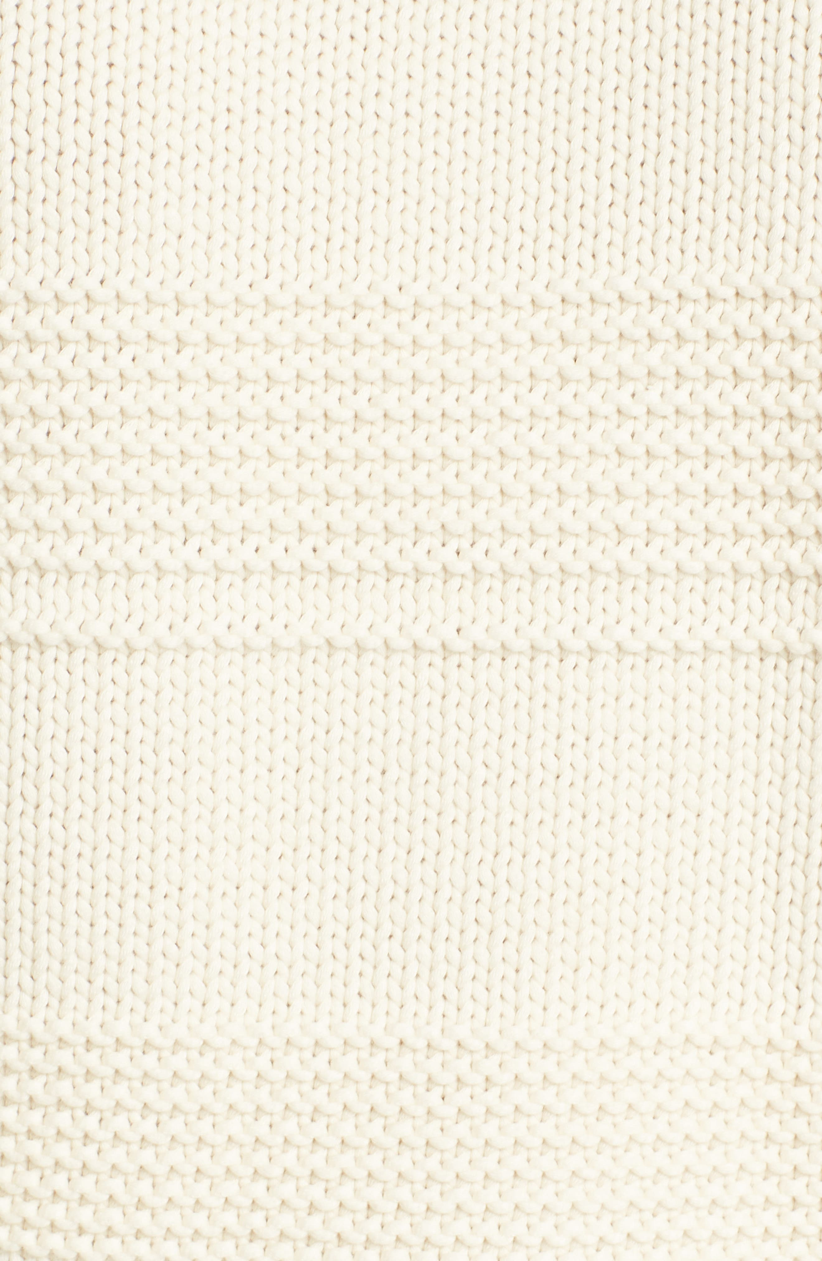 Sabrina Crewneck Sweater,                             Alternate thumbnail 5, color,                             BRIGHT CREAM
