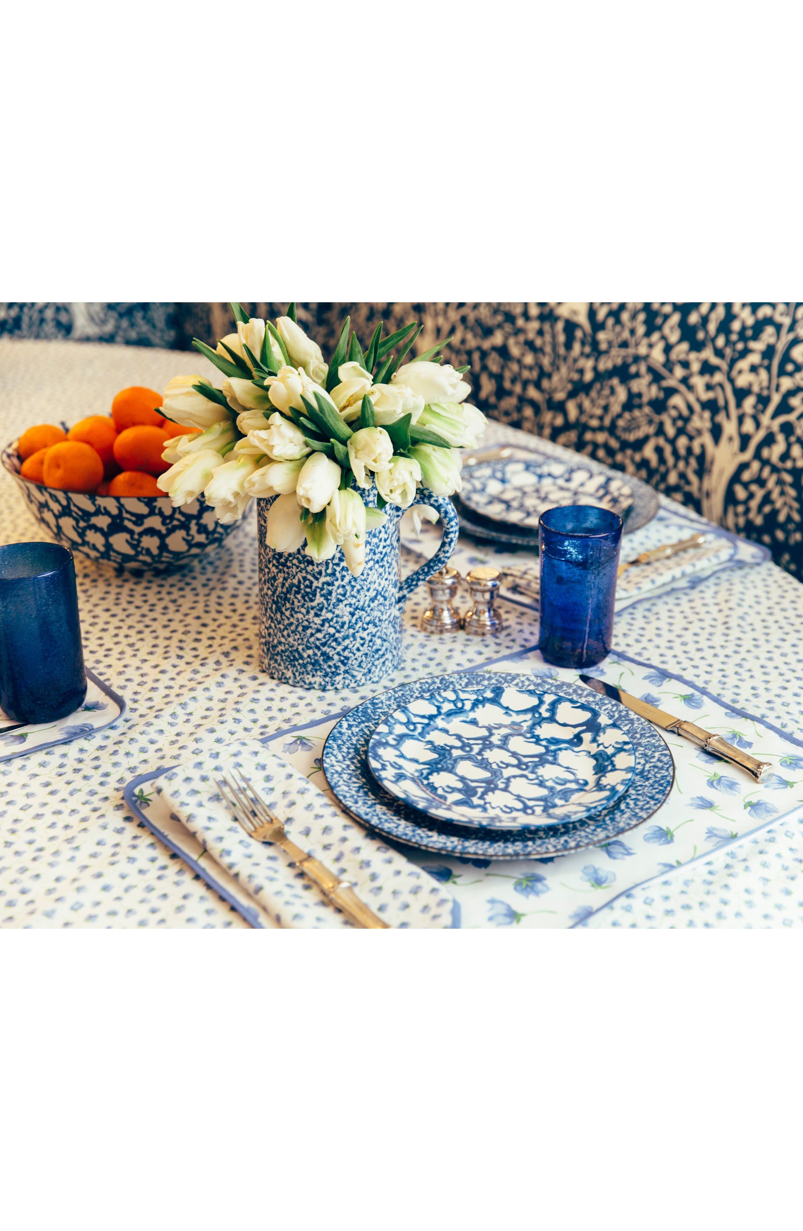 TORY BURCH,                             Set of 2 Spongeware Dinner Plates,                             Alternate thumbnail 3, color,                             CLASSIC SPONGE