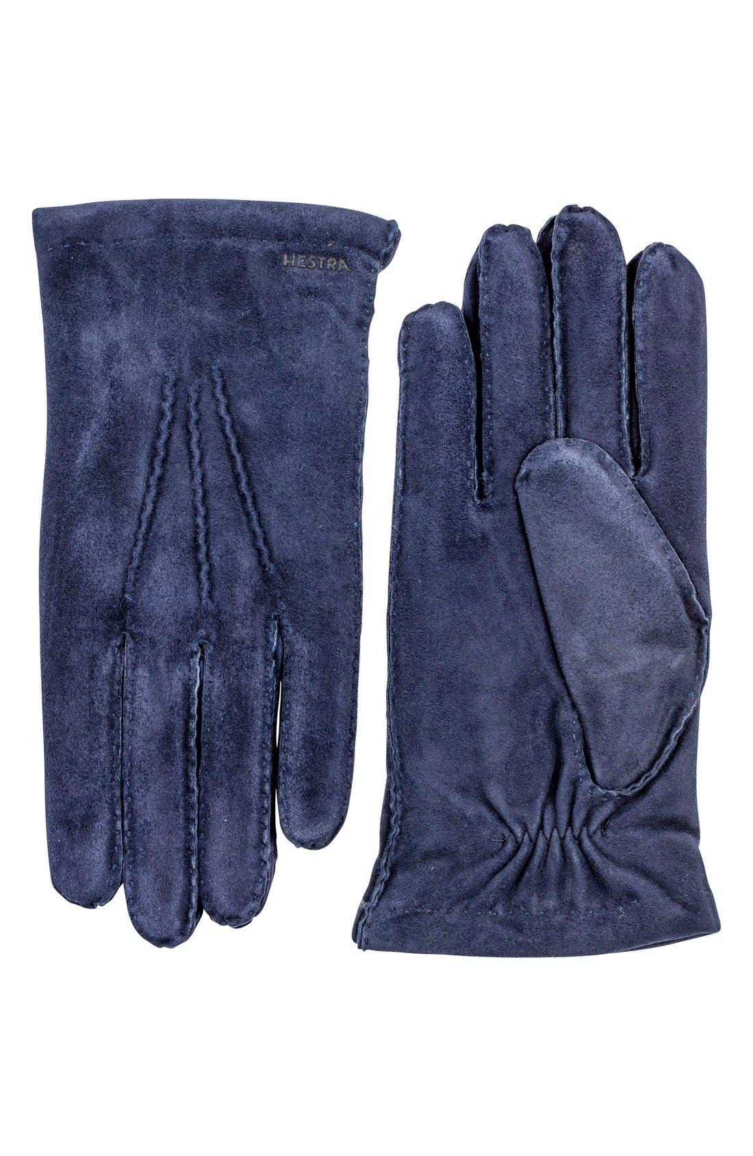 'Arthur' Suede Gloves,                             Main thumbnail 5, color,