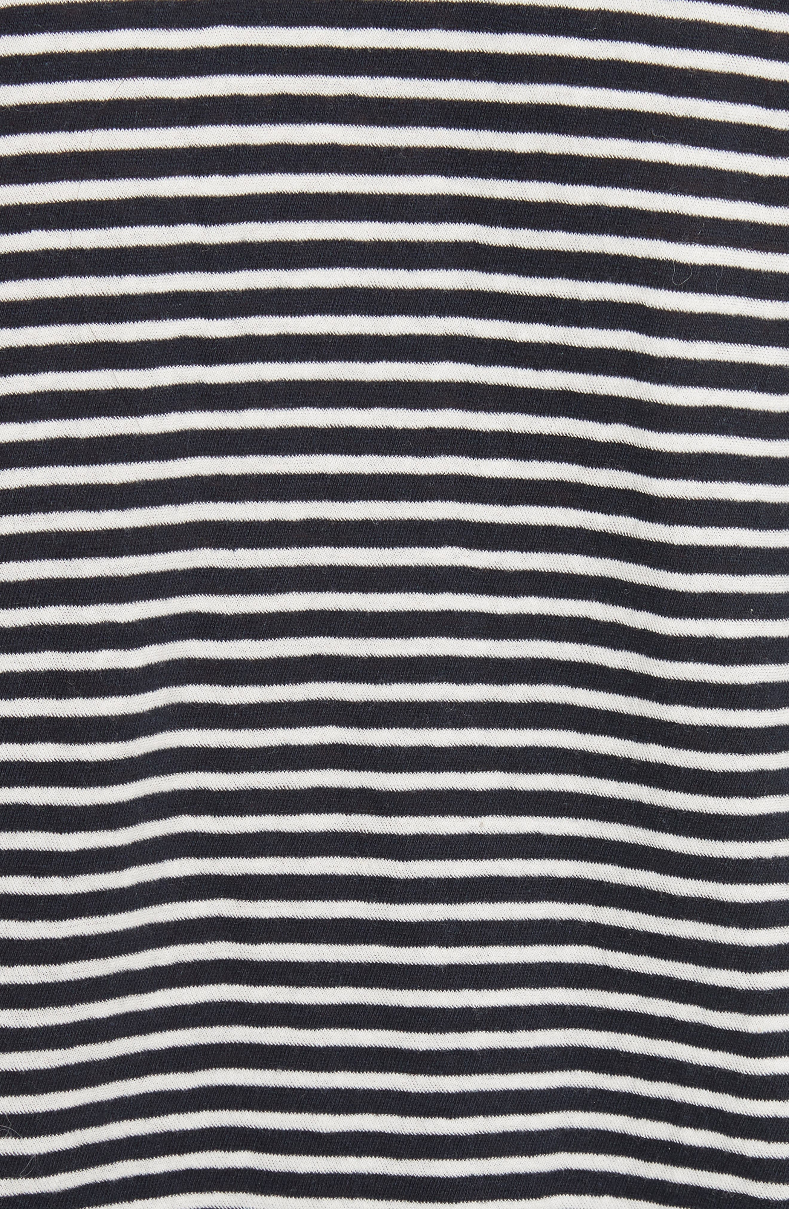 Stripe Jersey Top,                             Alternate thumbnail 5, color,                             482