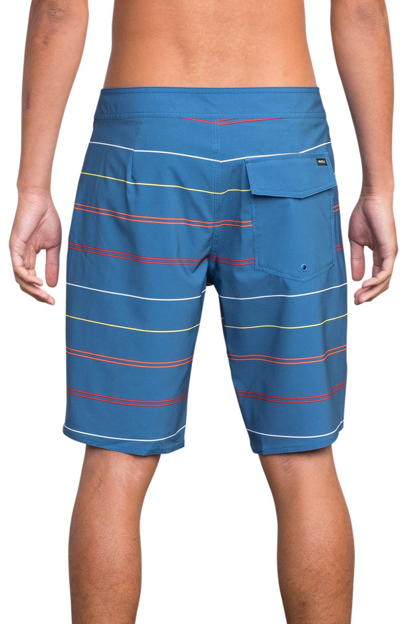 Middle Swim Trunks,                             Alternate thumbnail 2, color,                             COBALT