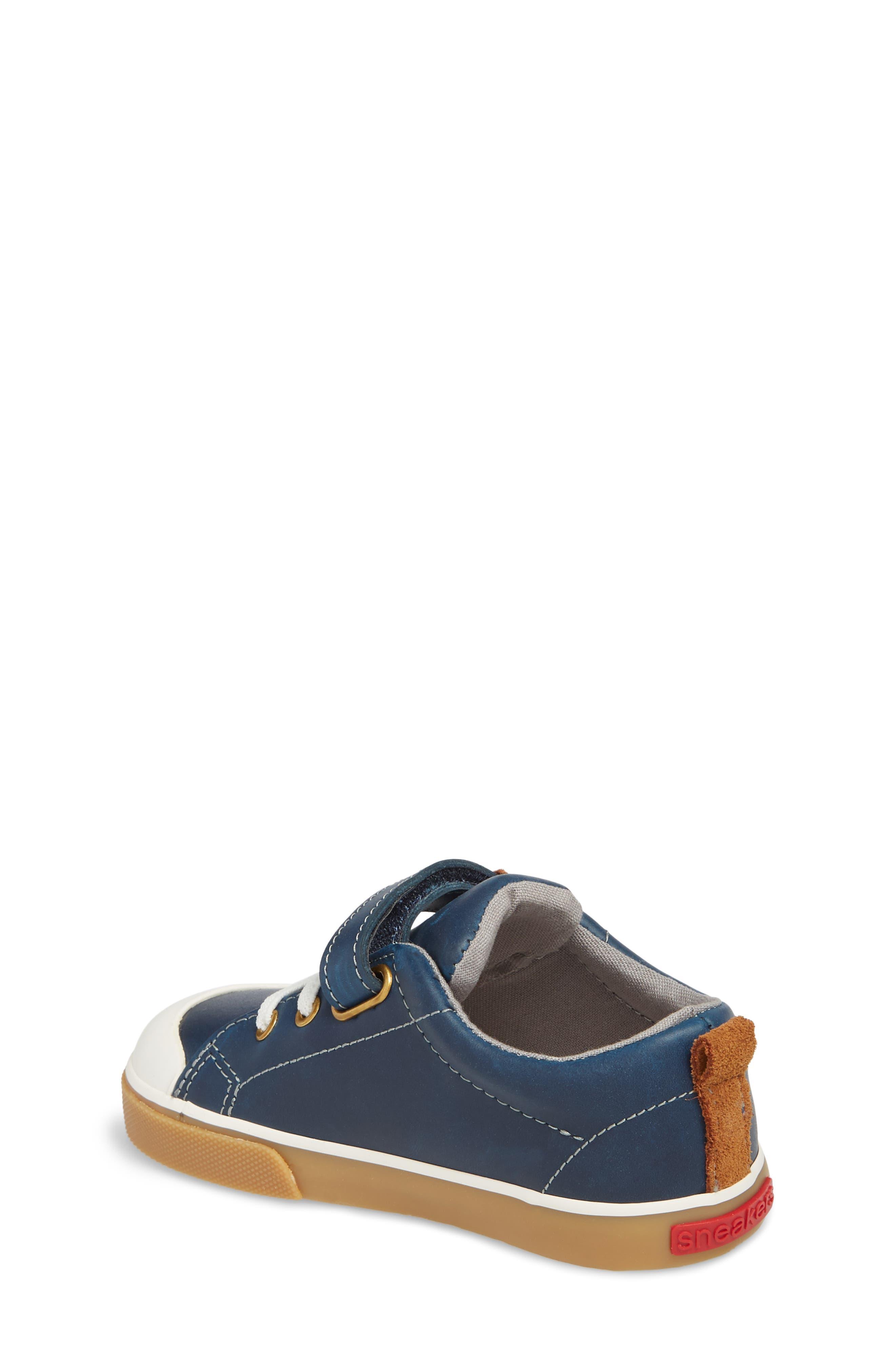 Stevie II Sneaker,                             Alternate thumbnail 2, color,                             NAVY LEATHER