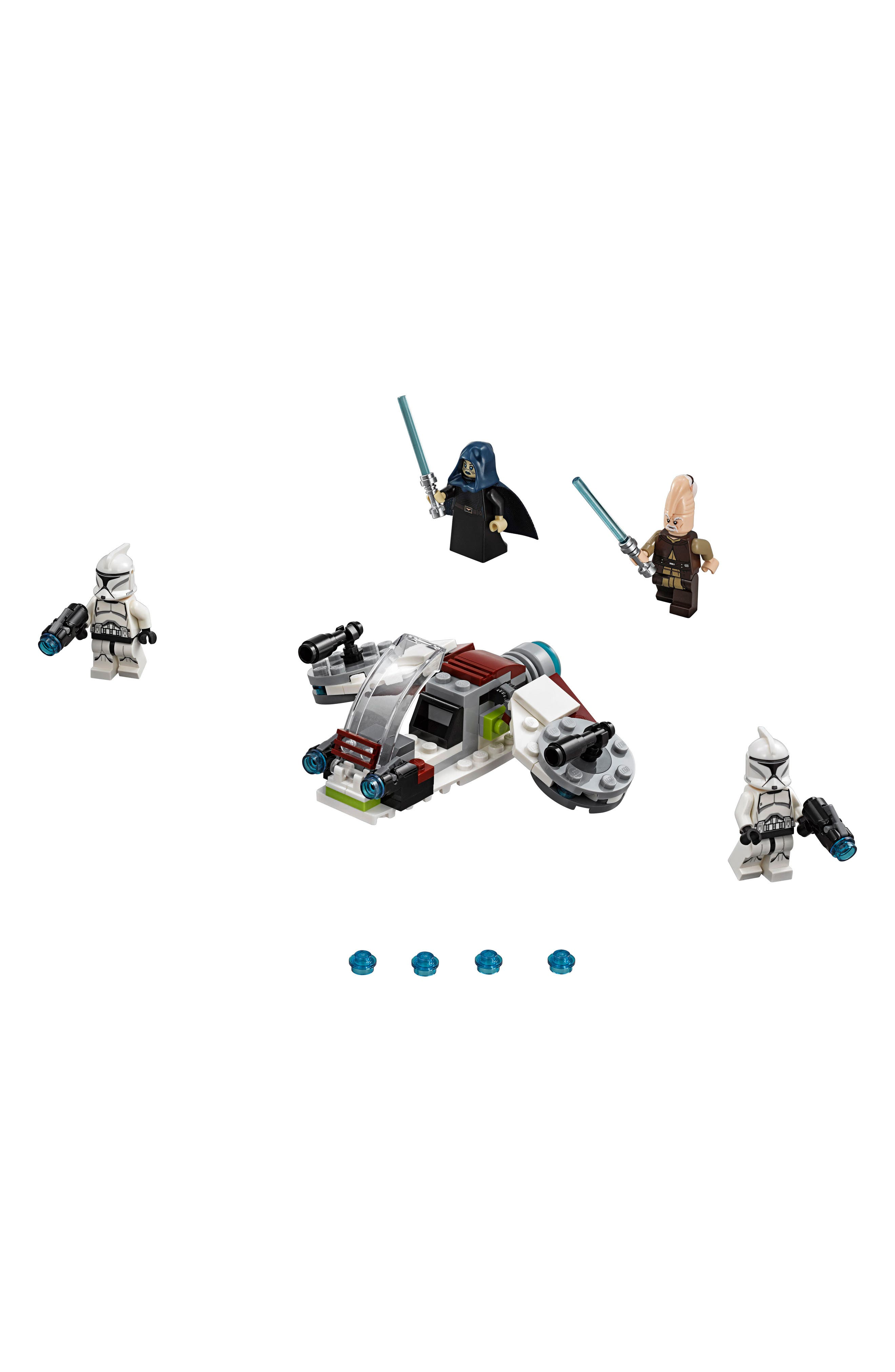 Jedi<sup>™</sup> and Clone Troopers<sup>™</sup> Battle Pack - 75206,                             Main thumbnail 1, color,                             100