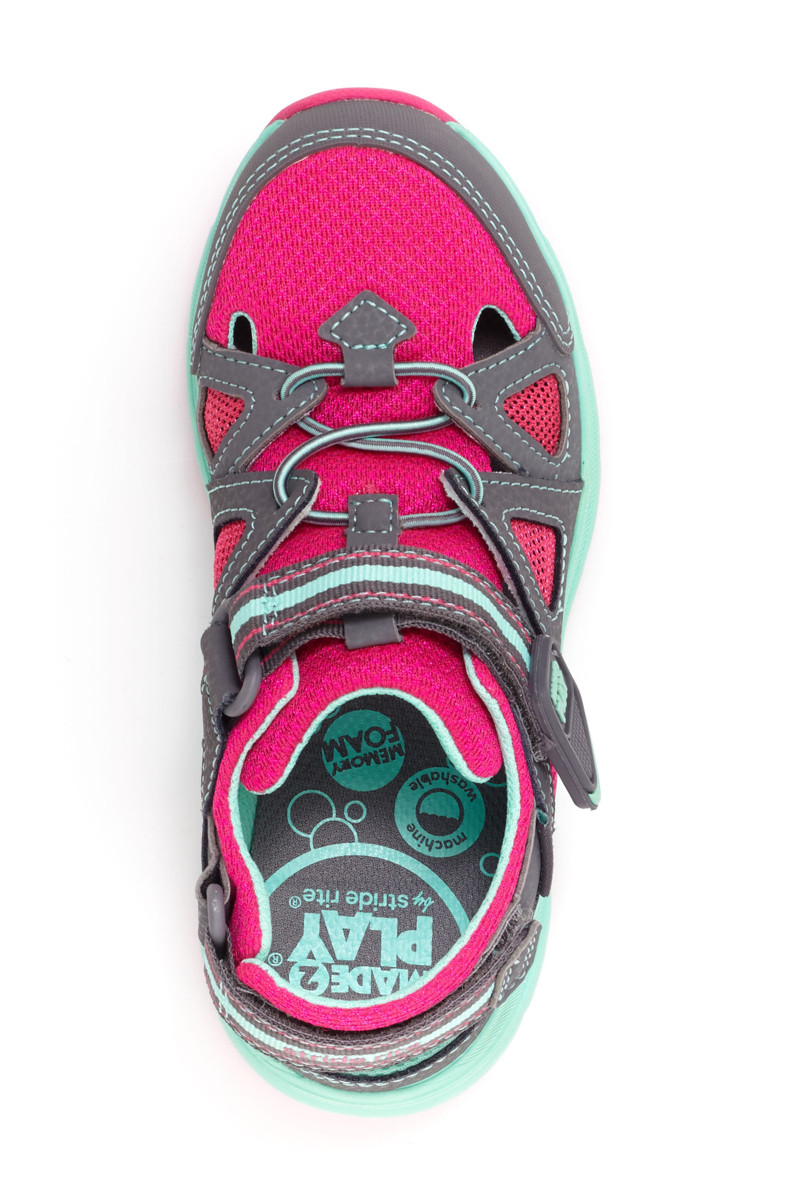 STRIDE RITE,                             Made2Play<sup>®</sup> Ryder Washable Sneaker,                             Alternate thumbnail 5, color,                             020