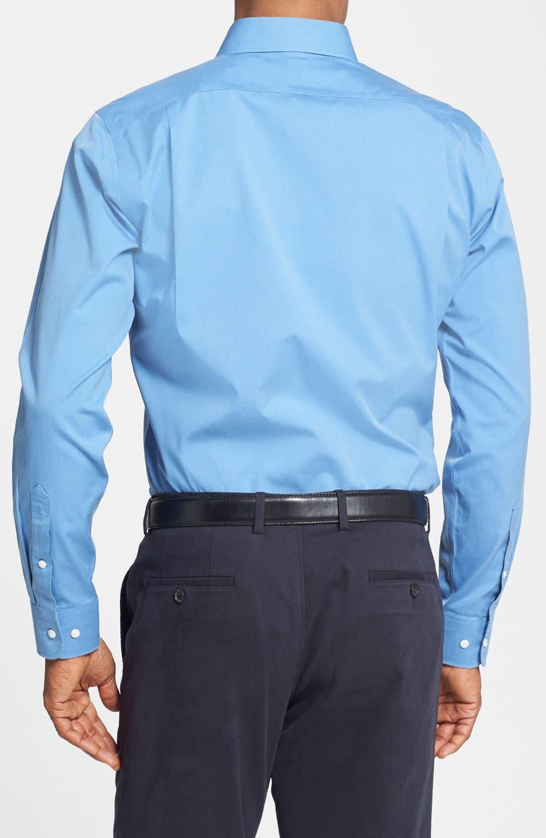 Smartcare<sup>™</sup> Trim Fit Solid Dress Shirt,                             Alternate thumbnail 40, color,