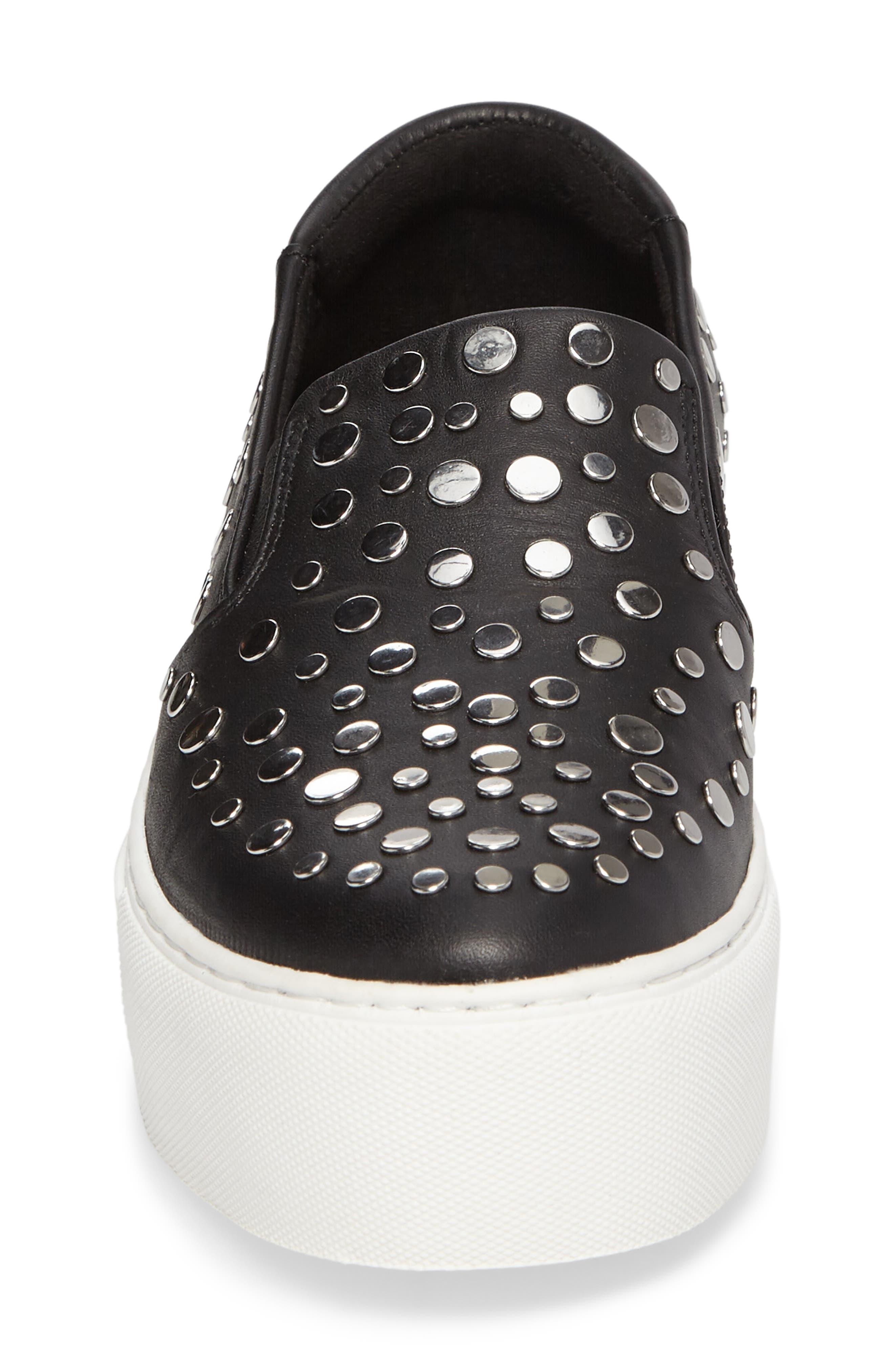 Jeyda Slip-On Sneaker,                             Alternate thumbnail 4, color,                             001