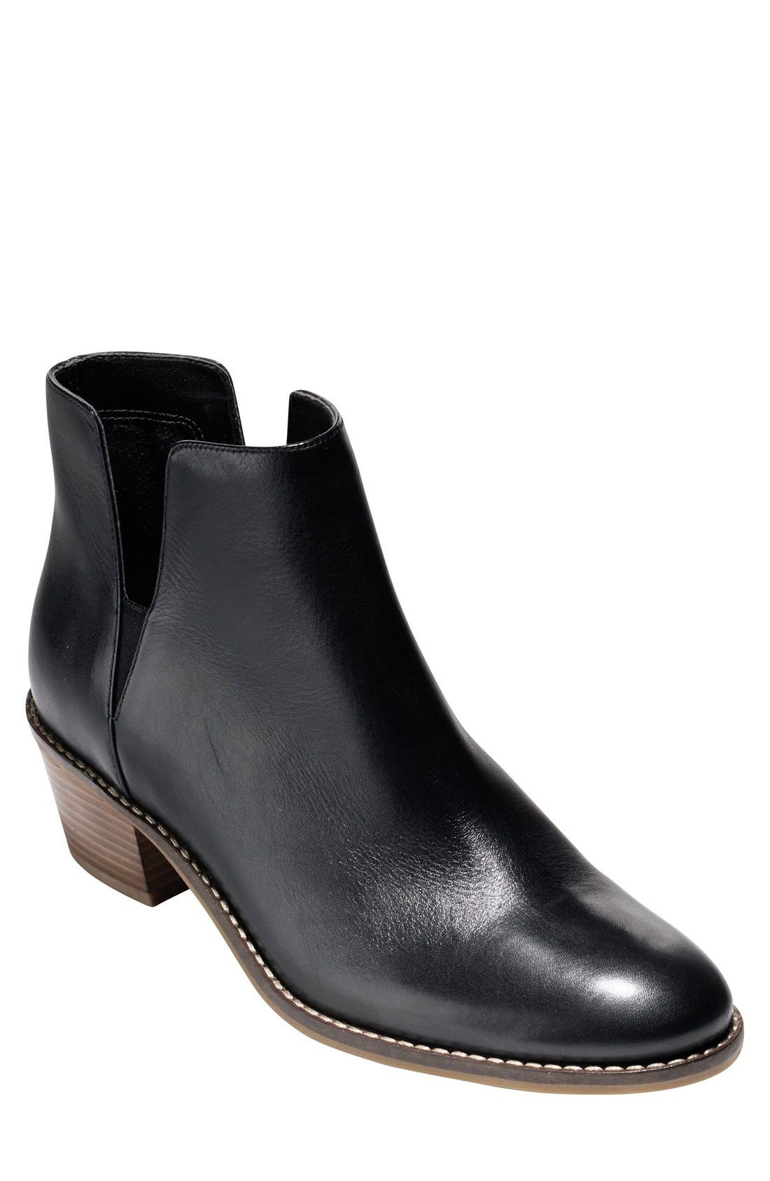 'Abbot' Chelsea Boot,                             Main thumbnail 4, color,