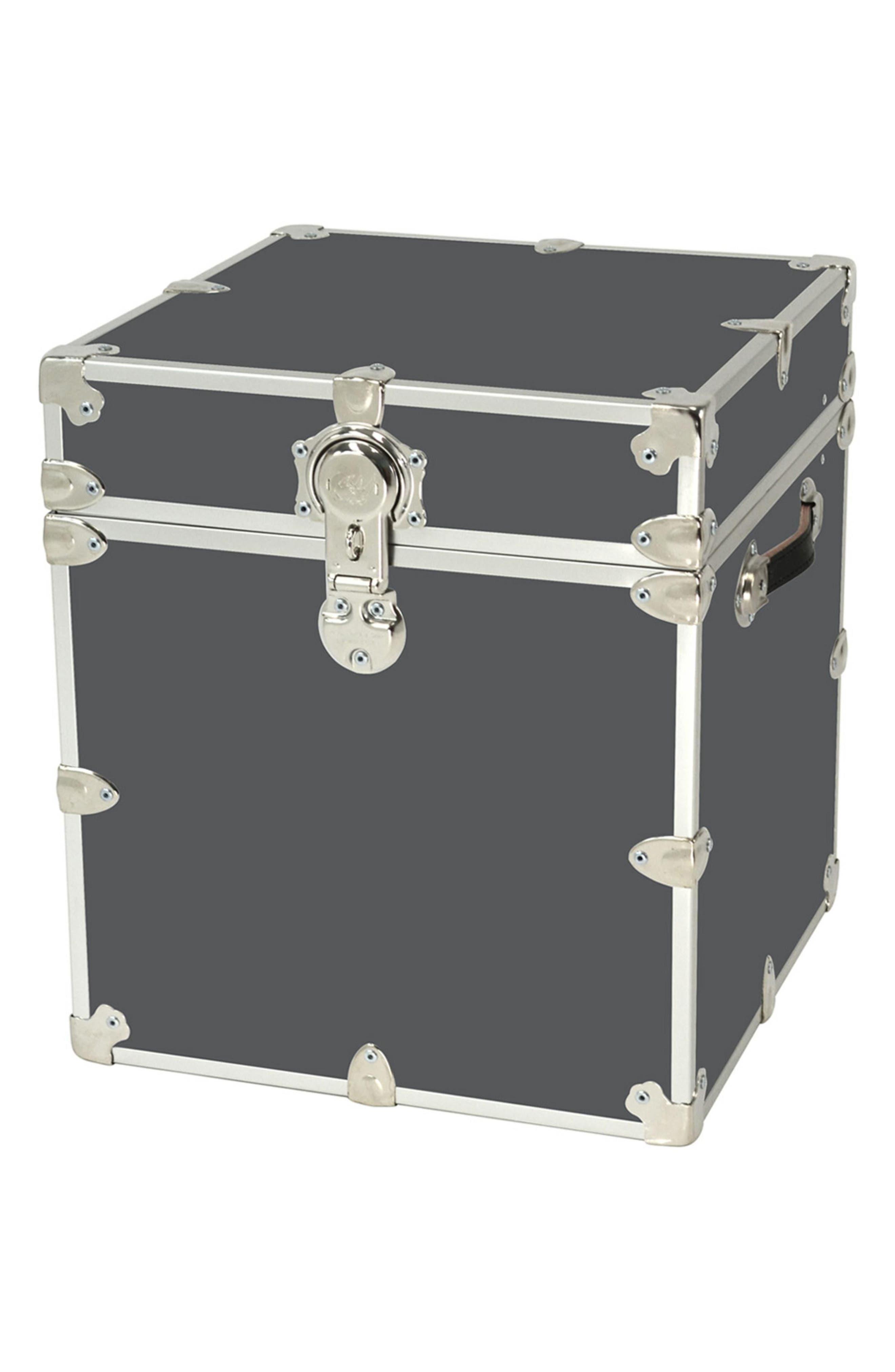 Rhino Trunk & Case Armor Cube Trunk,                             Main thumbnail 1, color,                             SLATE