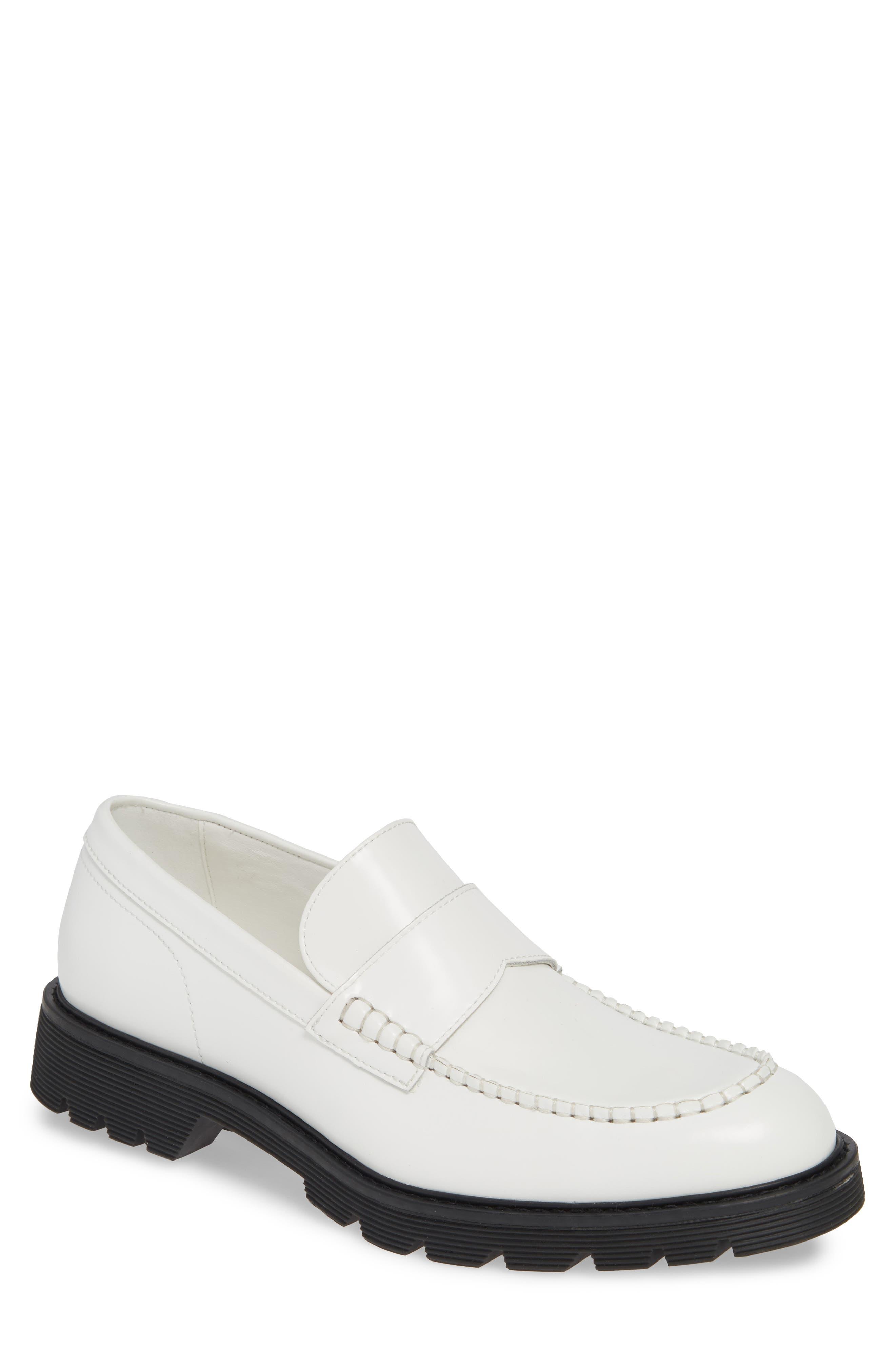 Calvin Klein Fletcher Loafer, White